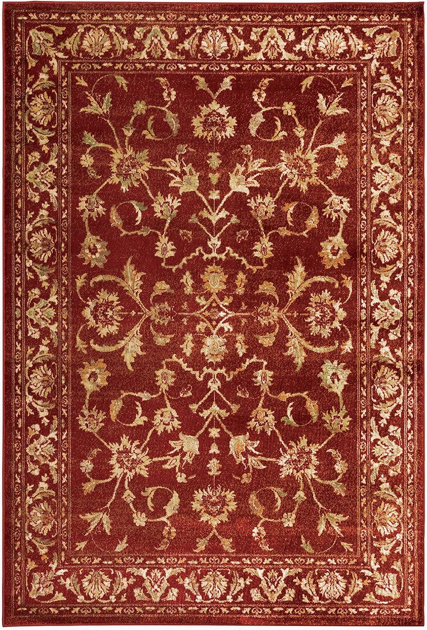 oriental weavers juliette 1331s red gold area rugx