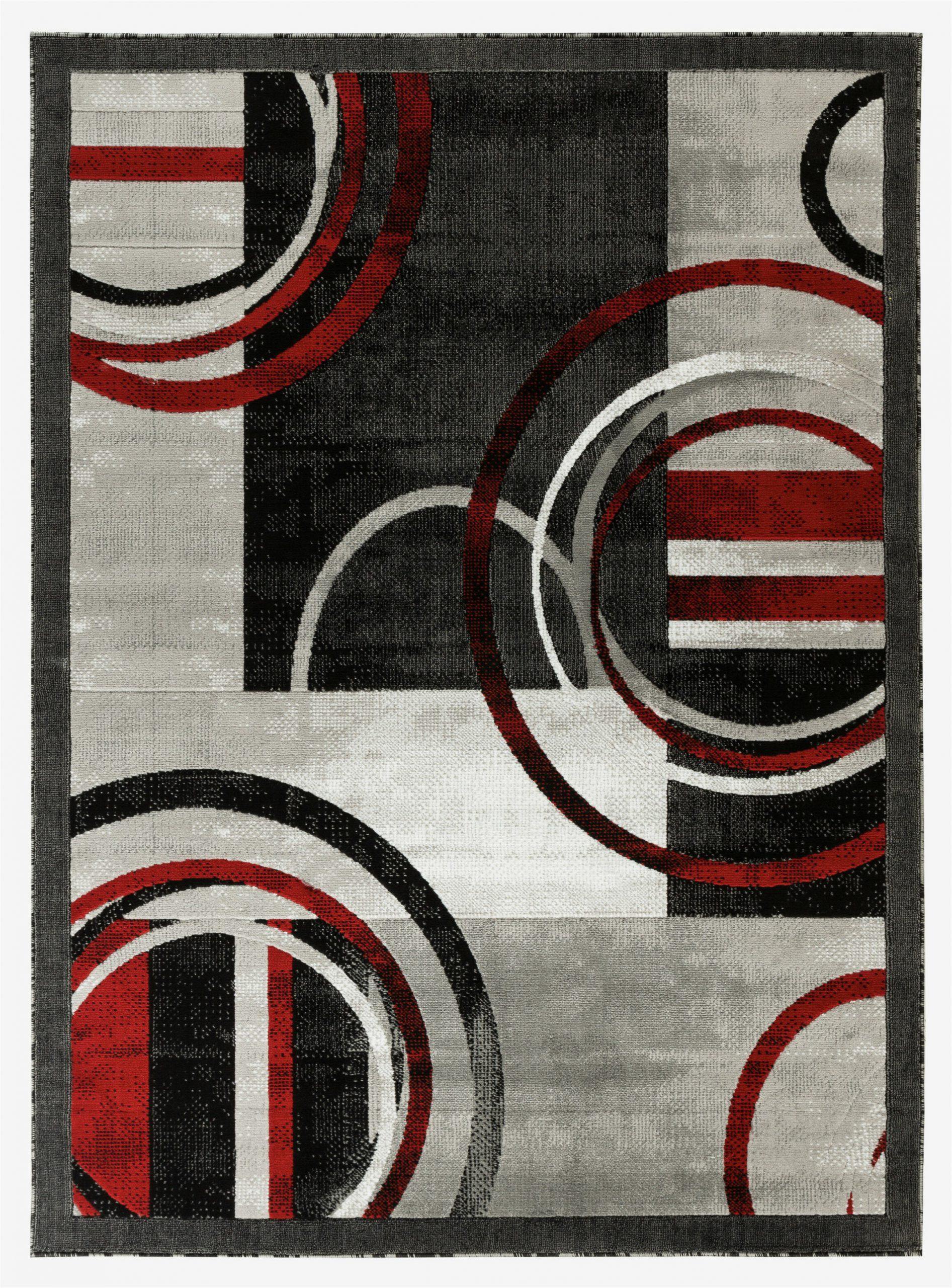 delana abstract grayredblack area rug