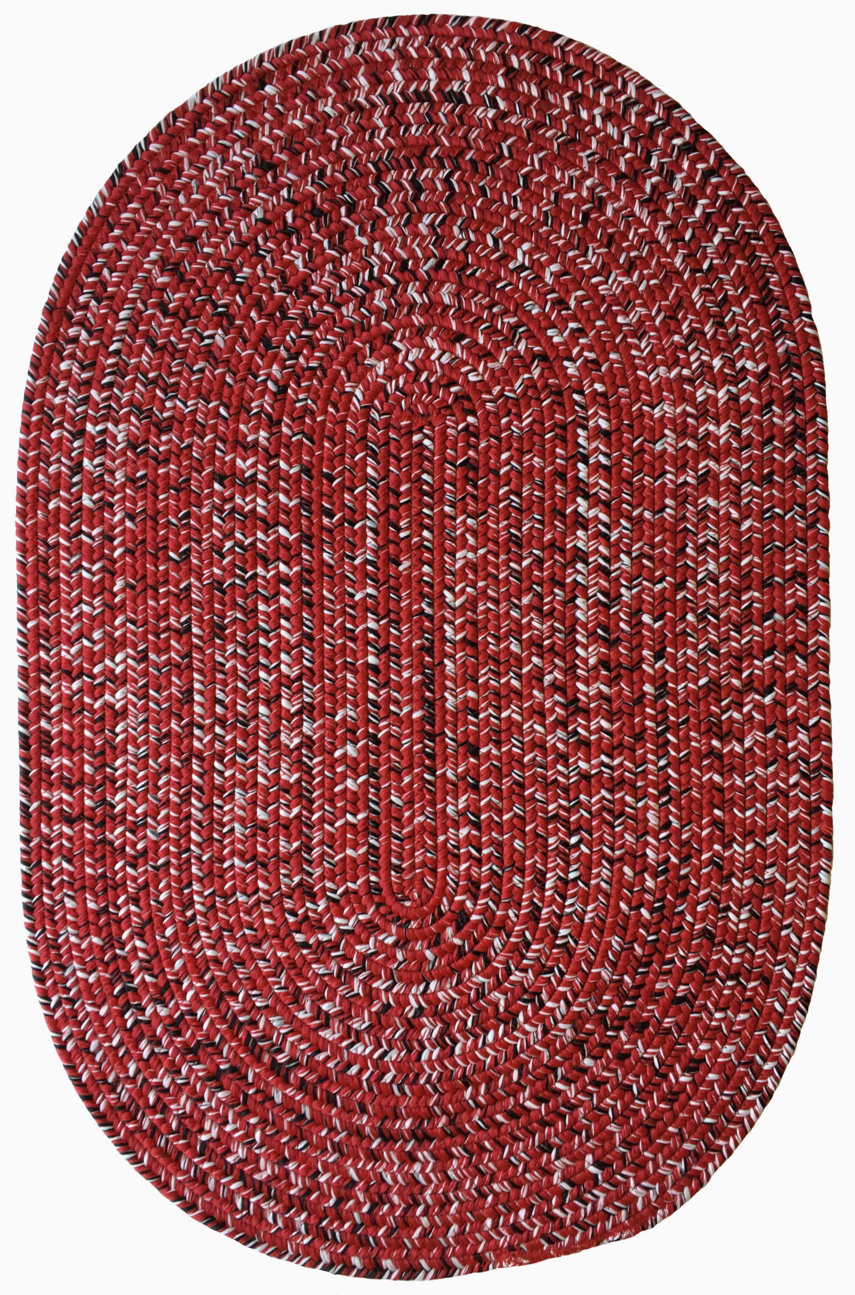 aarush hand braided redwhite area rug