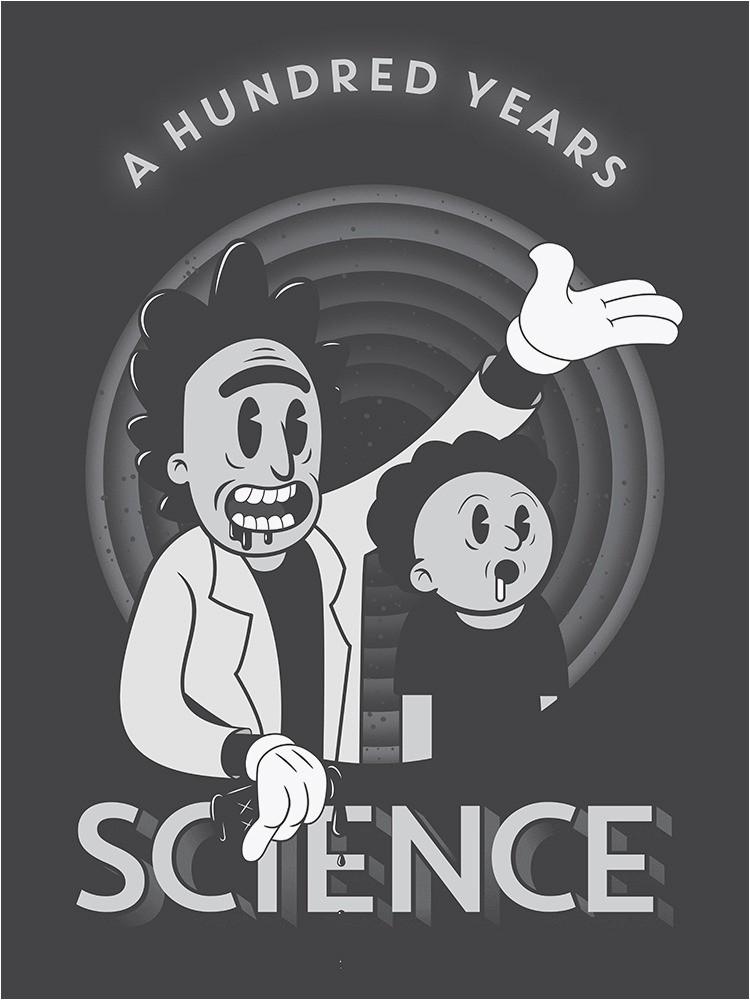 Rick and Morty area Rug Oc] I Slaved Over This Rick and Morty Poster Rickandmorty