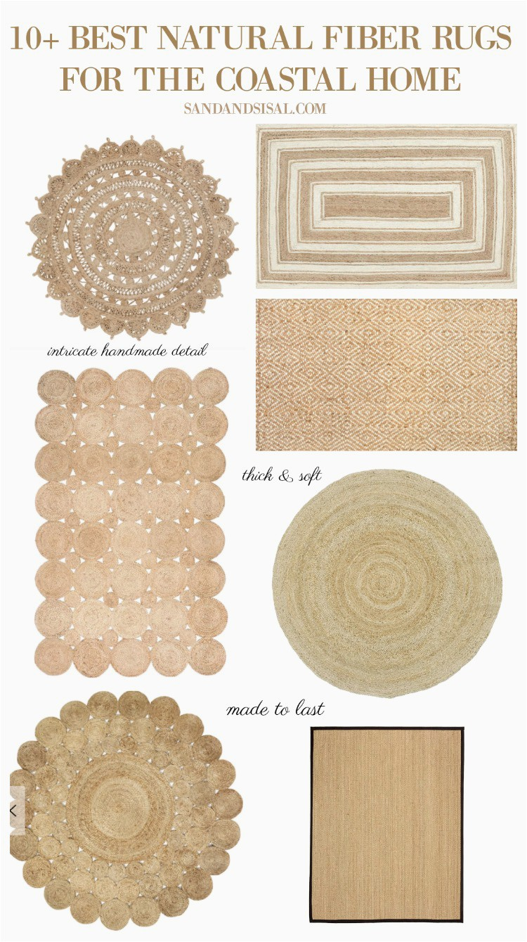 Best Natural Fiber Rugs for the Coastal Home