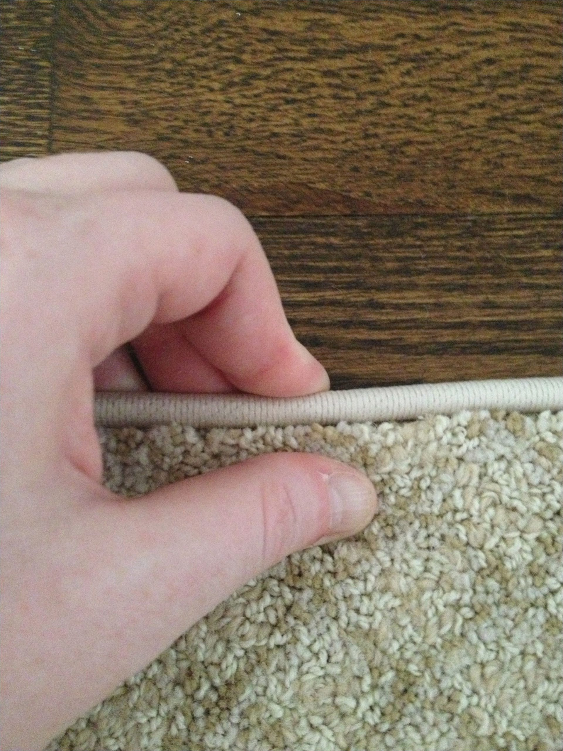 Rug Binding In My area How to Turn A Carpet Remnant Into A Rug