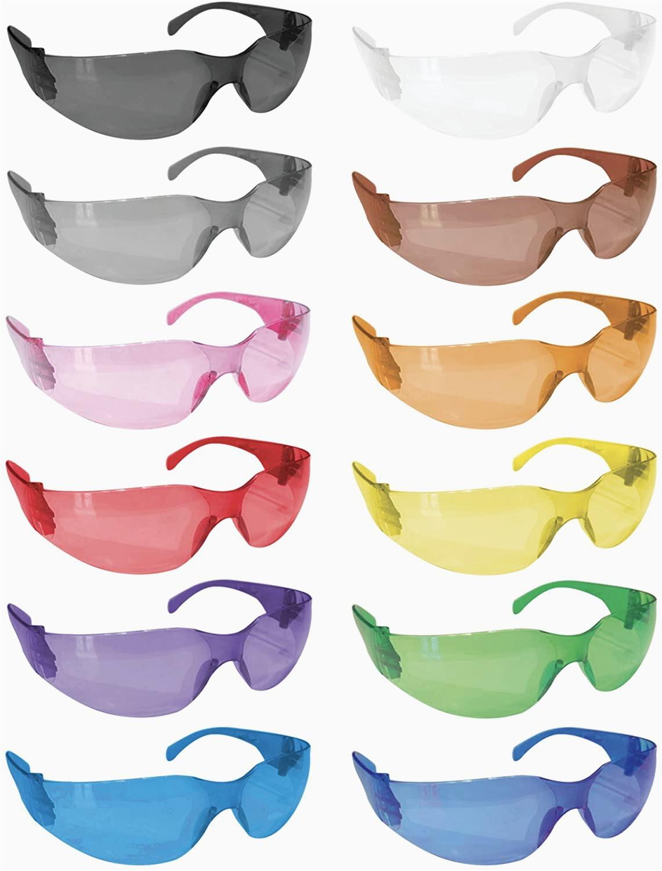 Rugged Blue Safety Glasses Safe Handler Full Color Safety Glasses
