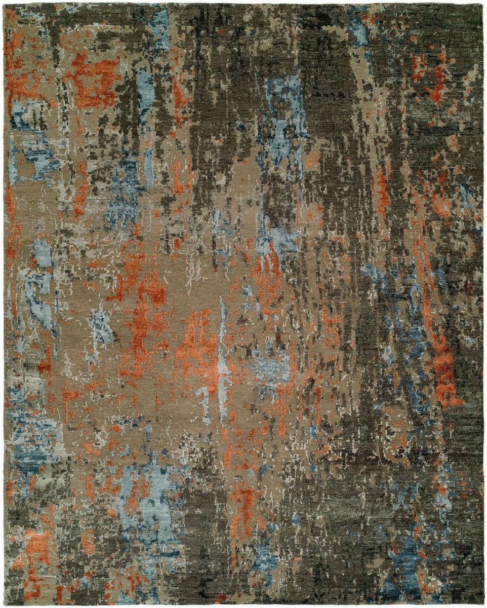 hri rosewood ro 1429 grey rust area rugx