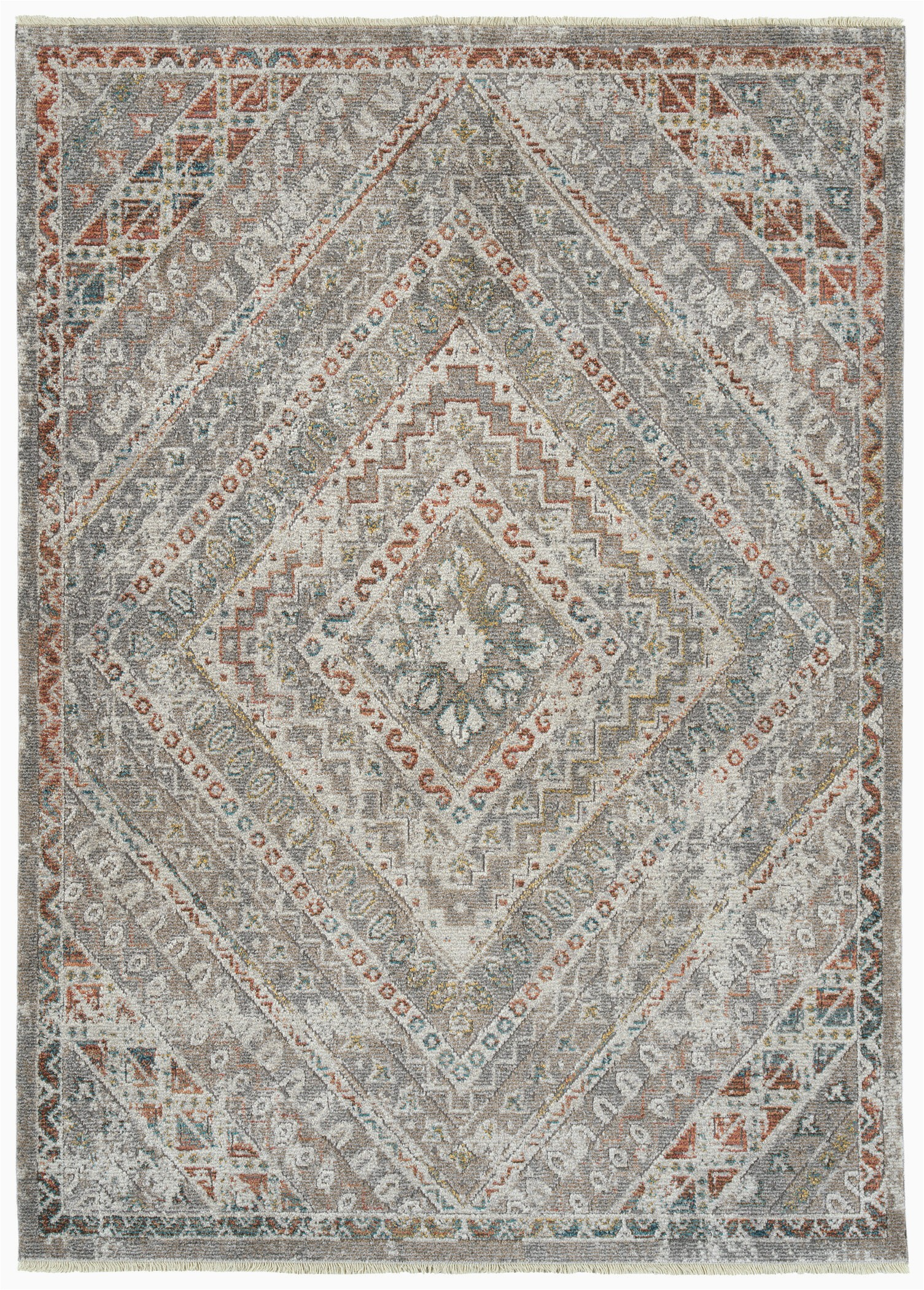 denfield gray area rug