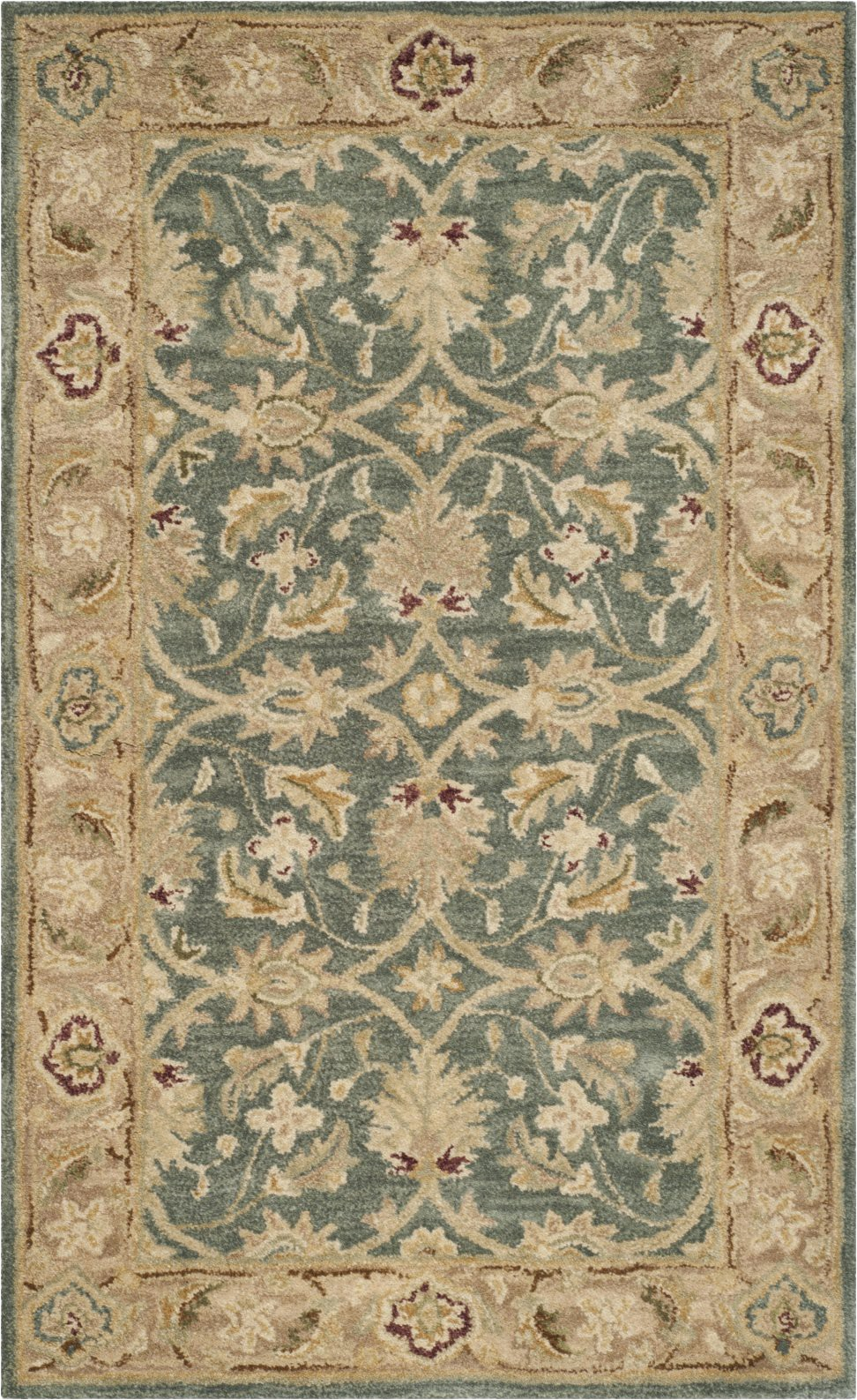 safavieh antiquity 822 grey blue beige area rug