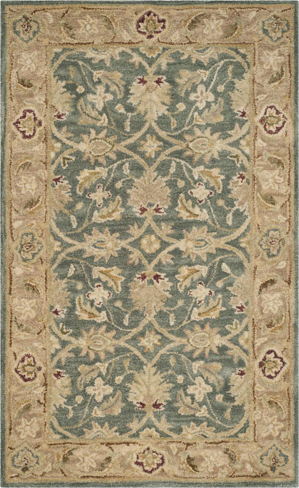 safavieh antiquity 822 grey blue beige area rug