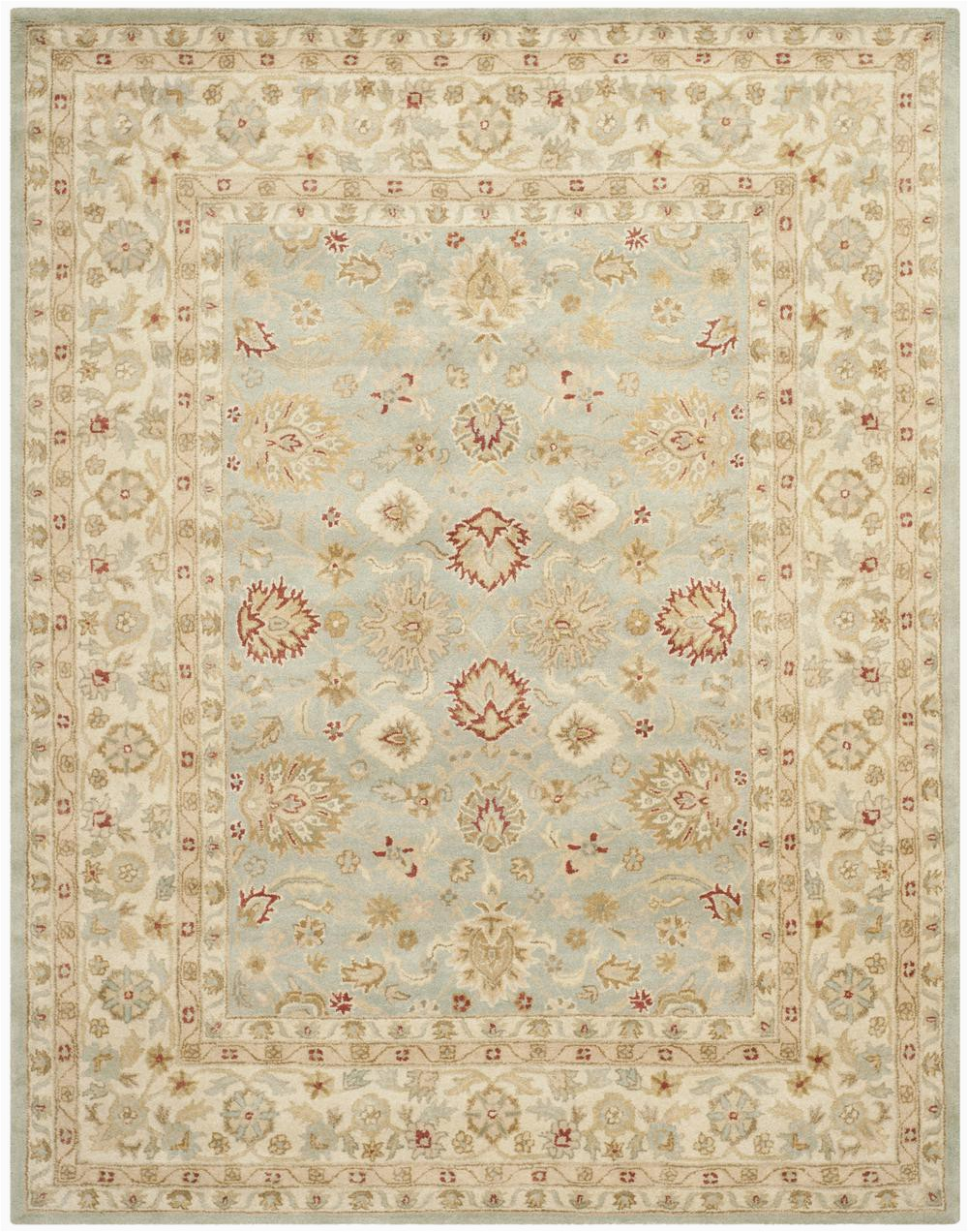 Safavieh Antiquity AT822A Grey Blue and Beige rugs