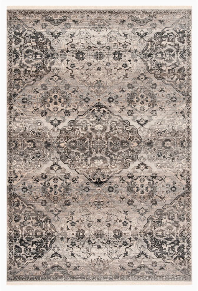 "Safavieh Vintage Persian Blue Multi Distressed Rug Safavieh Vintage Persian Collection Vtp476 Rug Grey 9 X 11 7"""