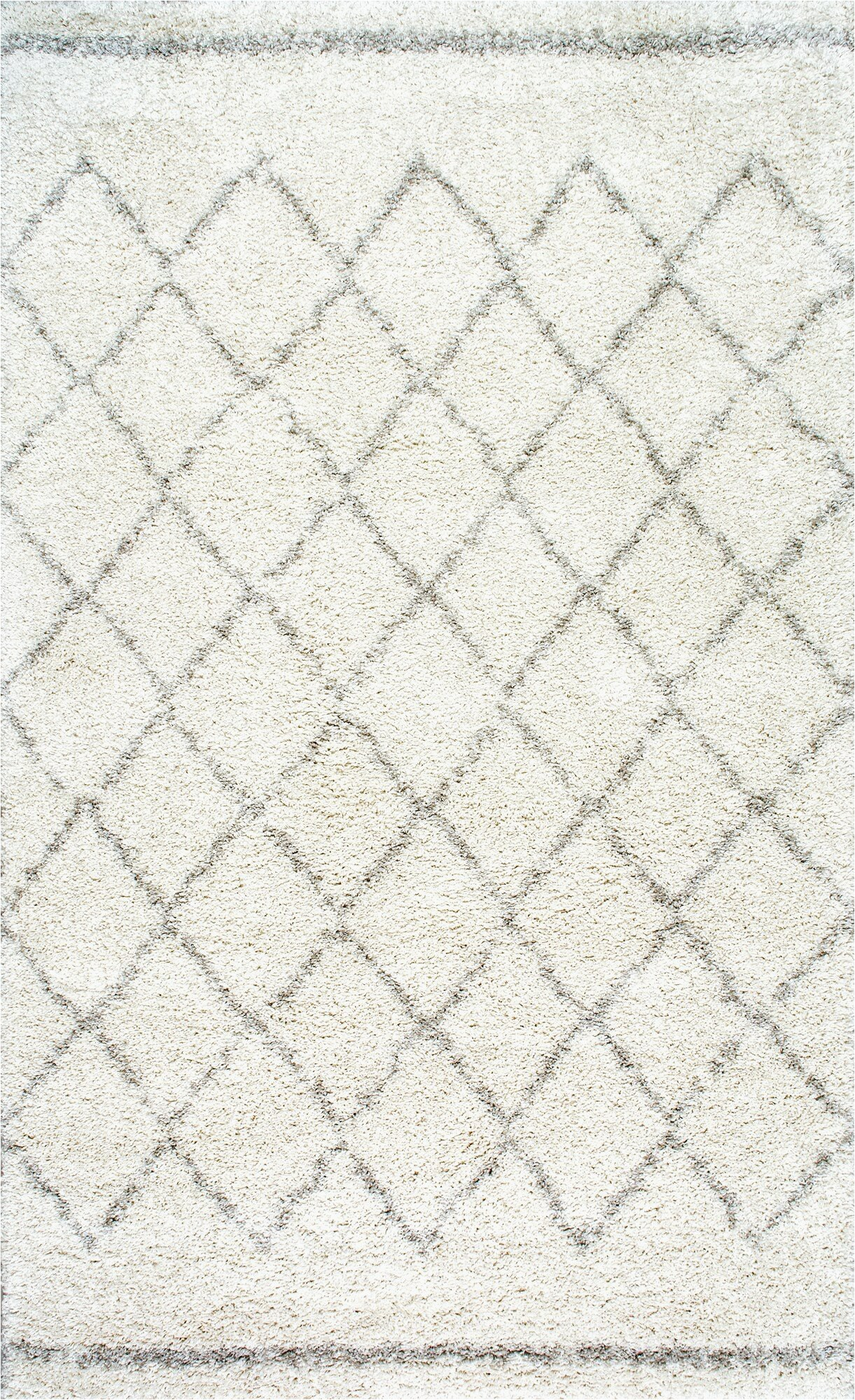 manus geometric off white area rug