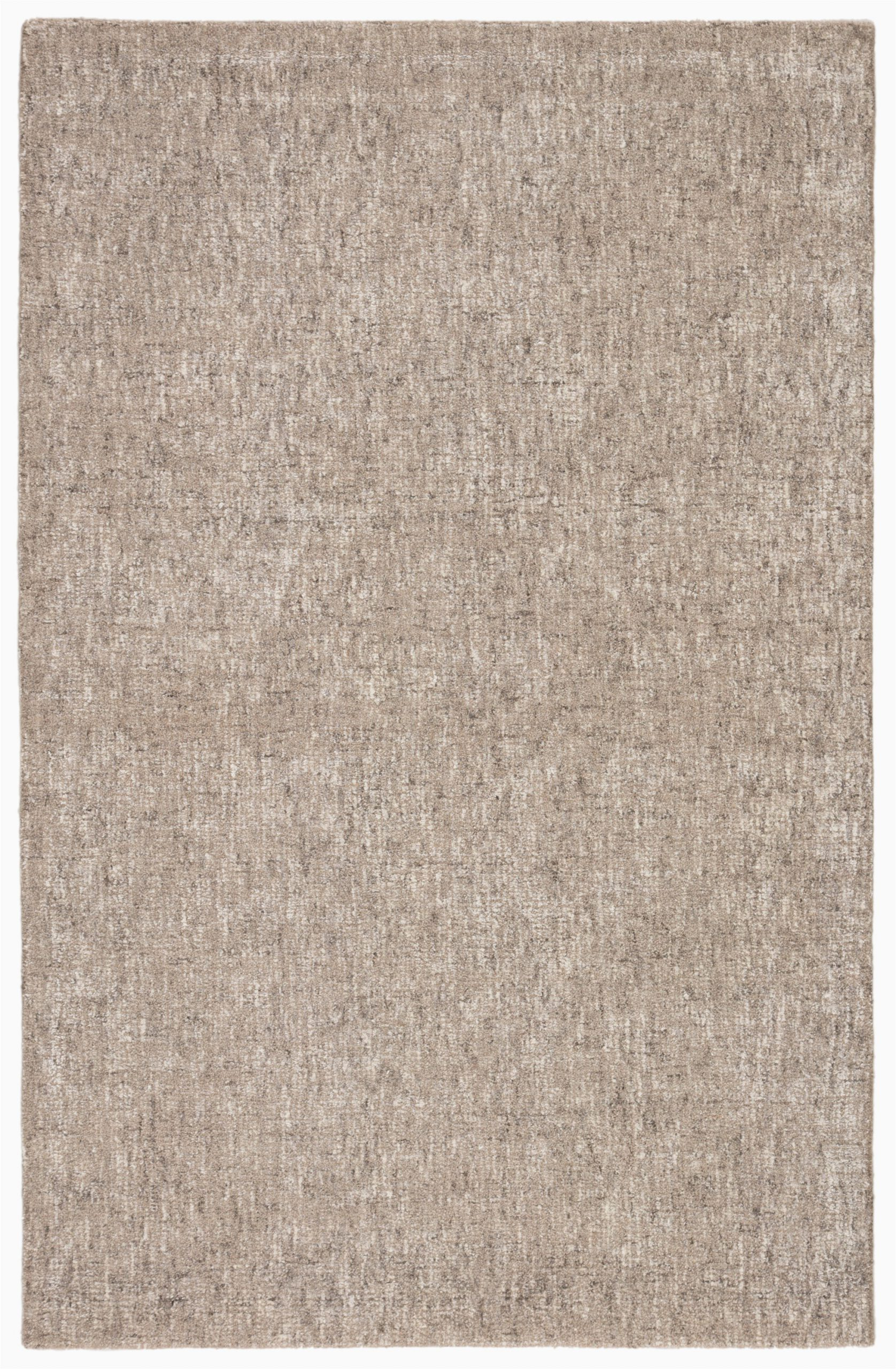 bernards hand tufted taupe area rug