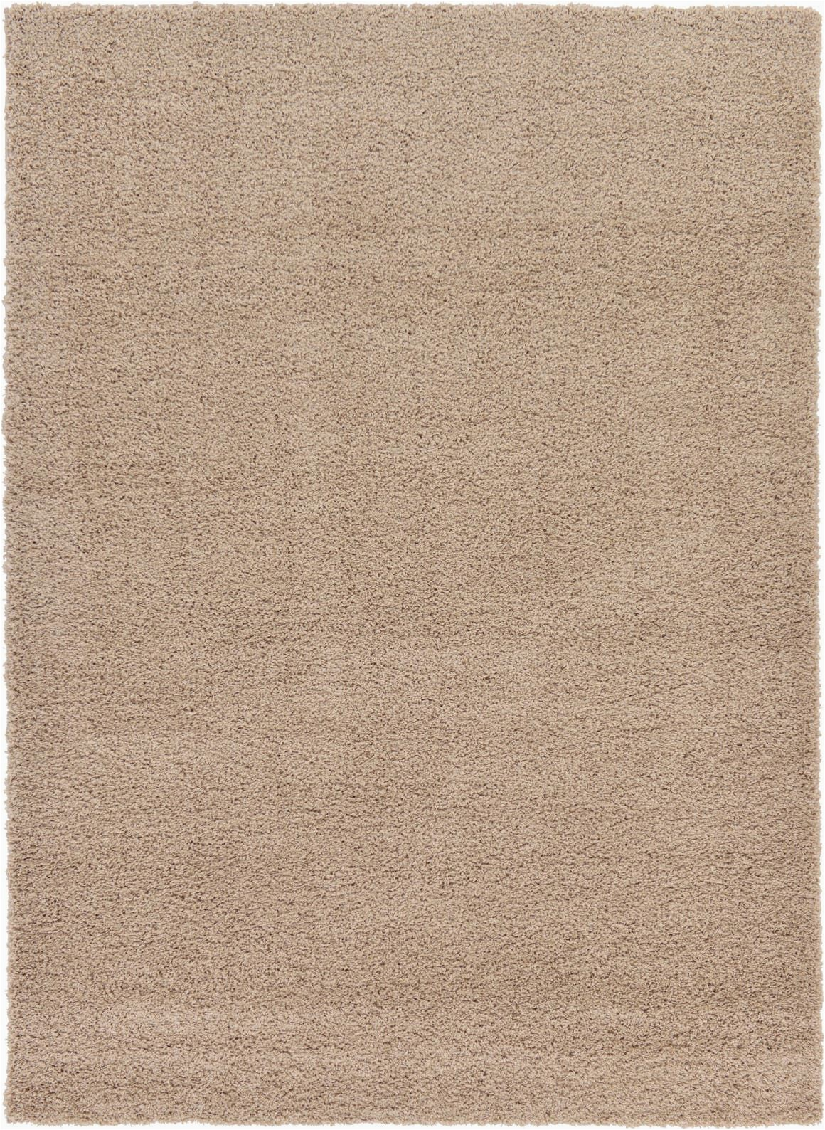 Taupe and Beige area Rugs Taupe solid Shag area Rug In 2020
