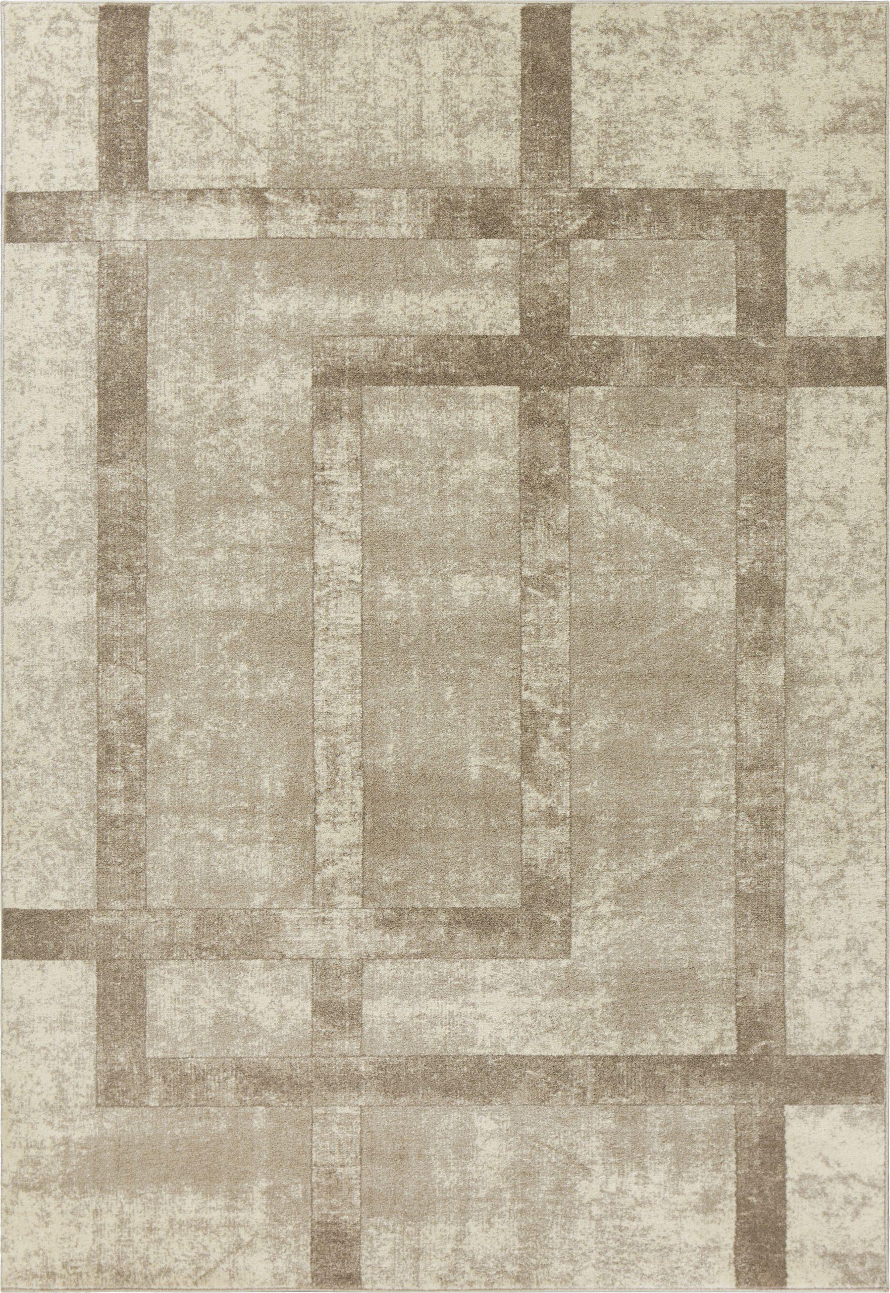 winston geometric creamivorytaupe area rug