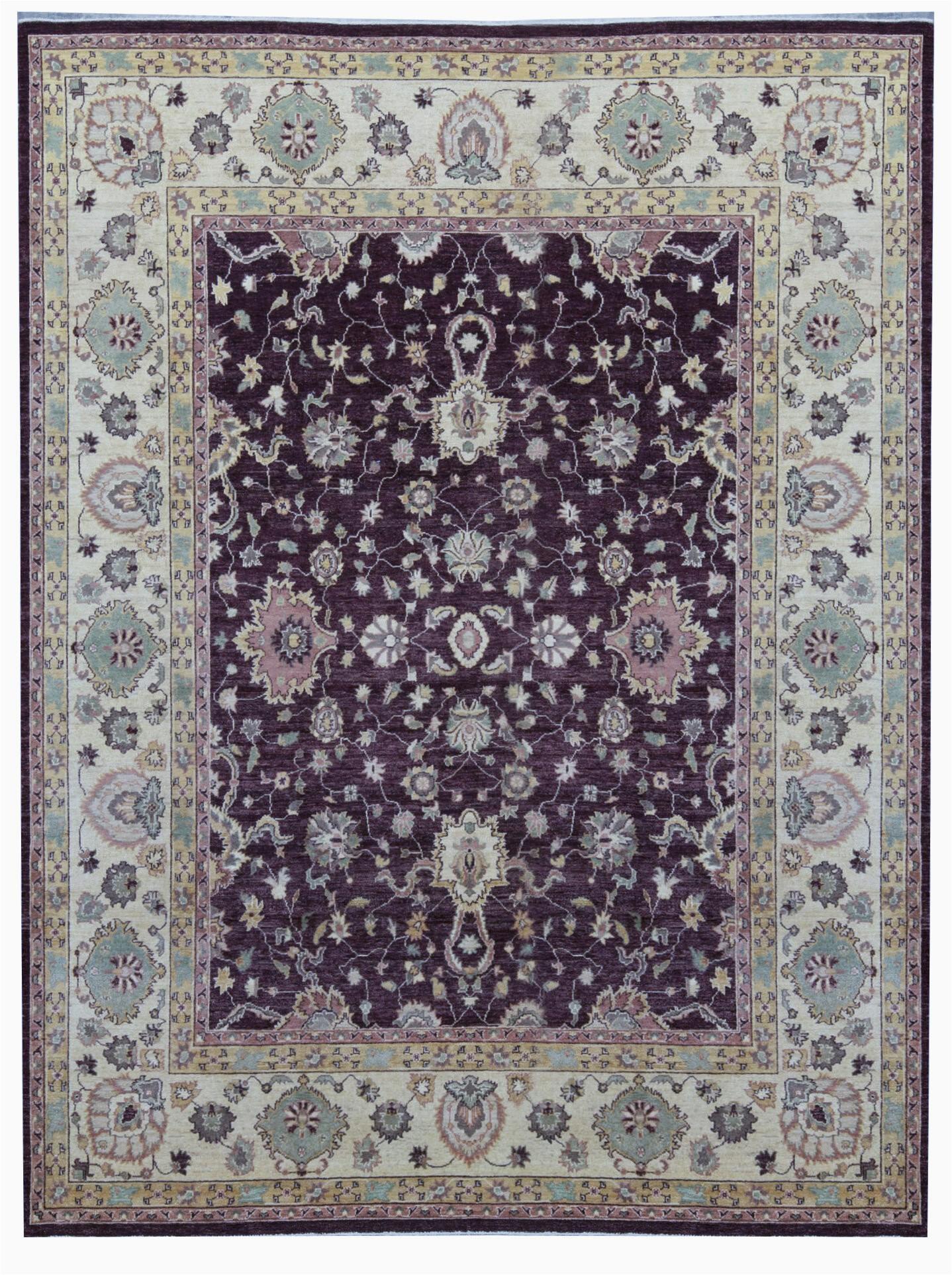 bokara rug co inc one of a kind hand knotted browncream 9 x 1110 wool area rug abhd4449