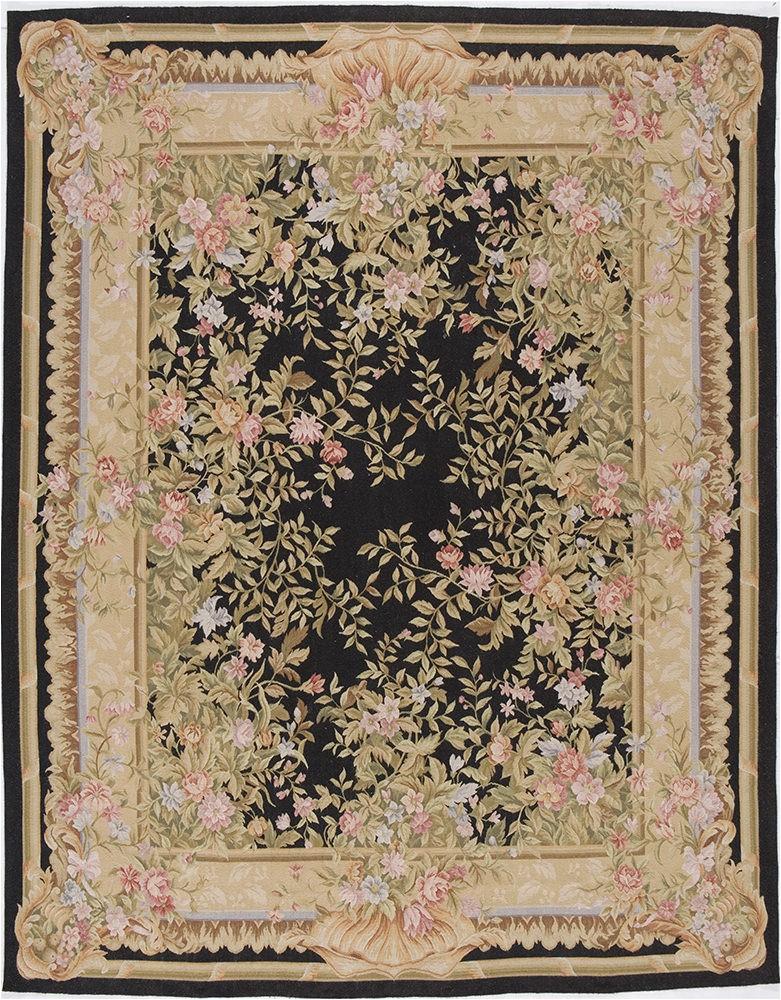 aubusson marseilles black square area rug 10 x 10 ft 9c20ab9353f14d11a0b b8c7c10 p