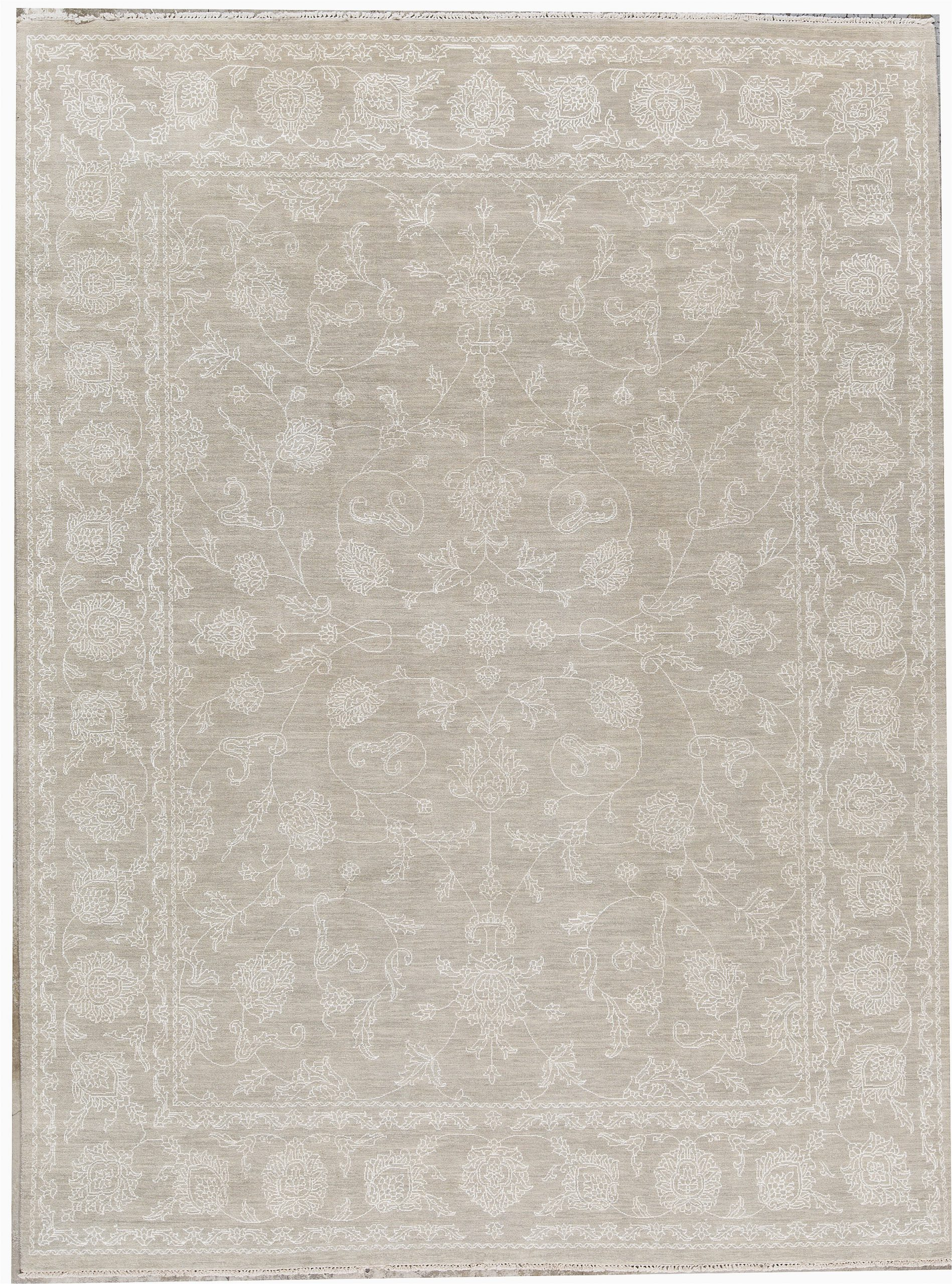 bokara rug co inc one of a kind cornwall hand knotted light gray 810 x 1110 wool area rug abhd8204