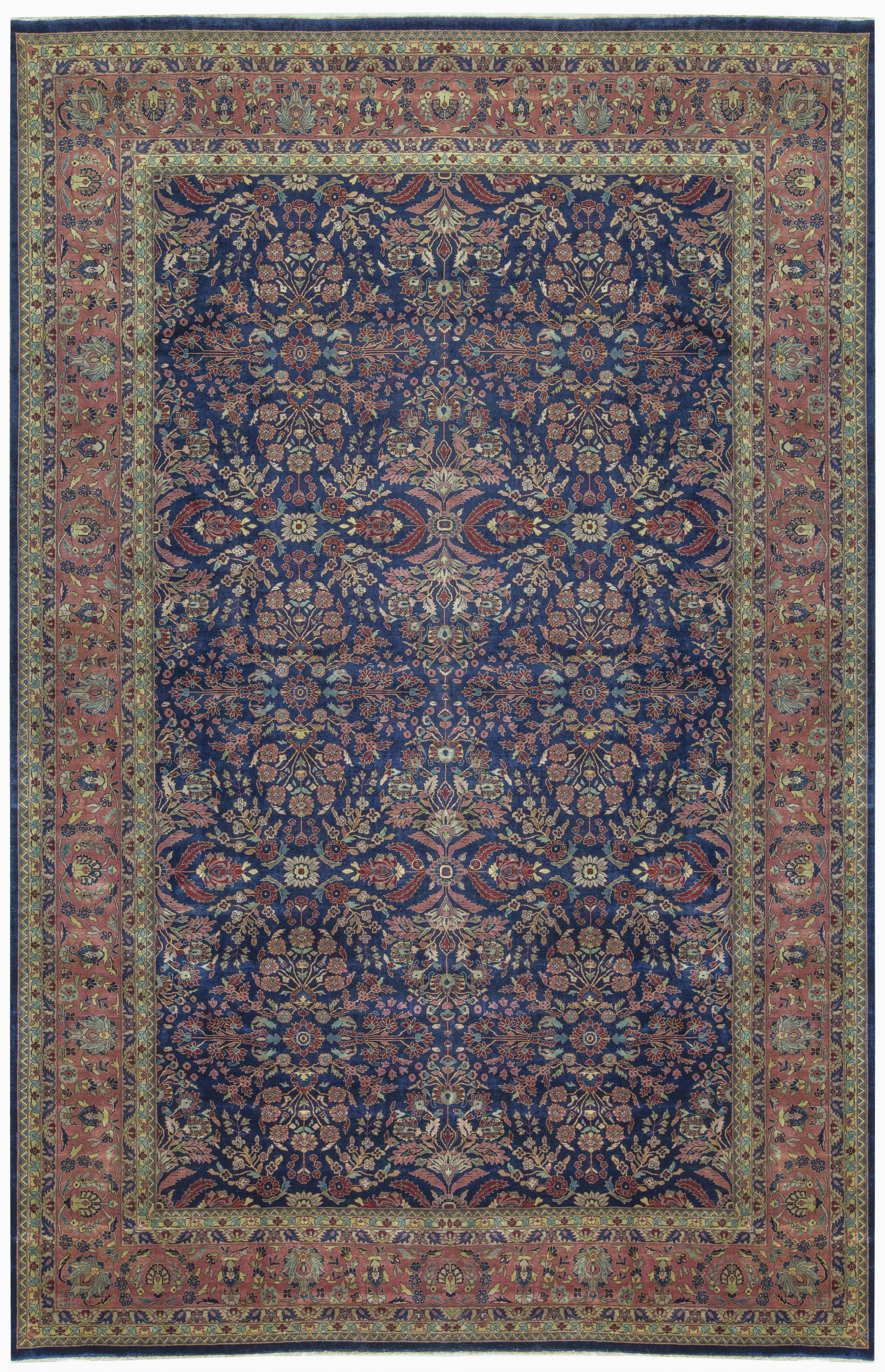 "10 X 13 area Rugs Lowes E Of A Kind Mahajaran Handwoven 12 X 18 6"" Wool Purple Blue area Rug"