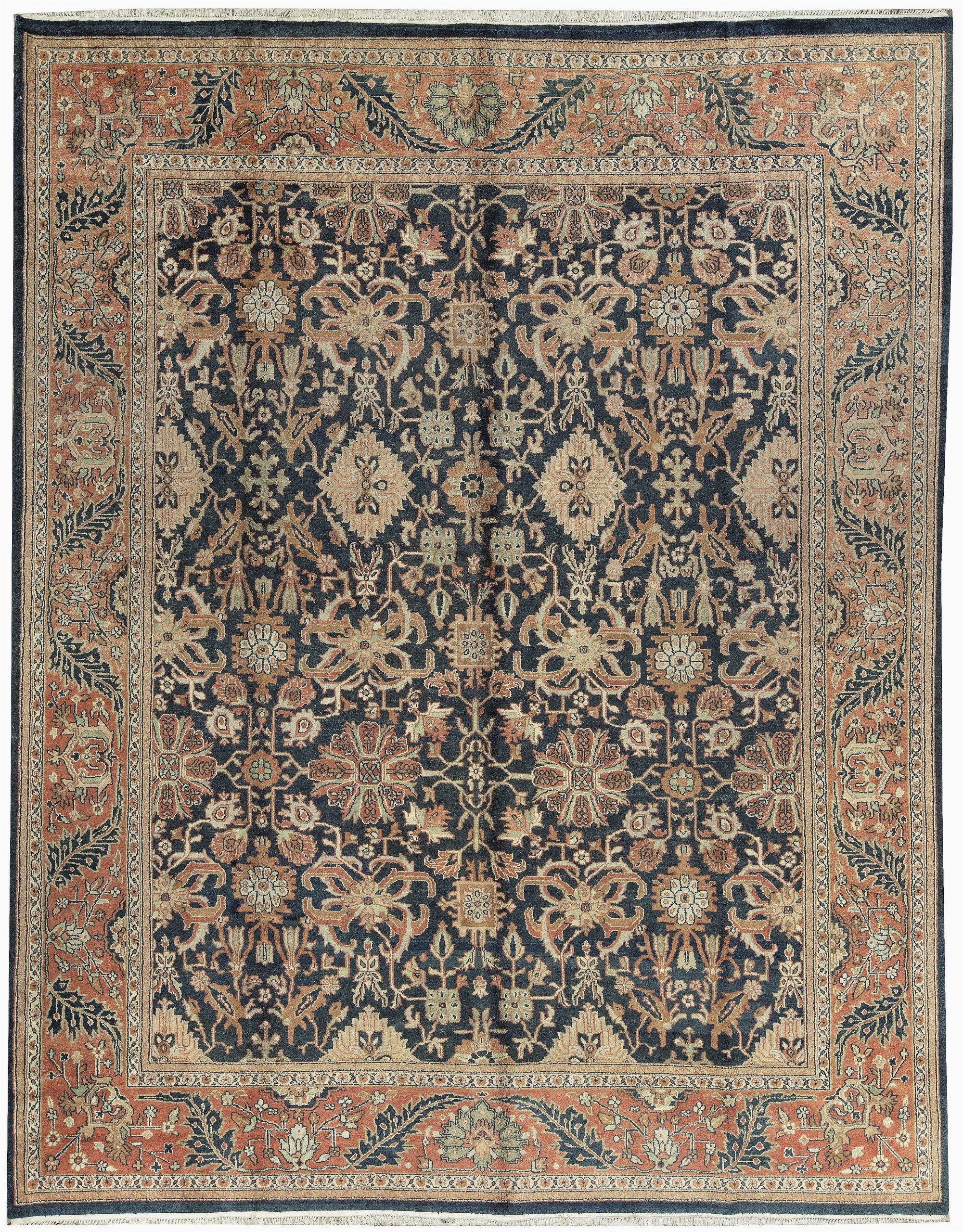 bokara rug co inc one of a kind moroccan handwoven 1111 x 149 wool orangeblack area rug abhd2344
