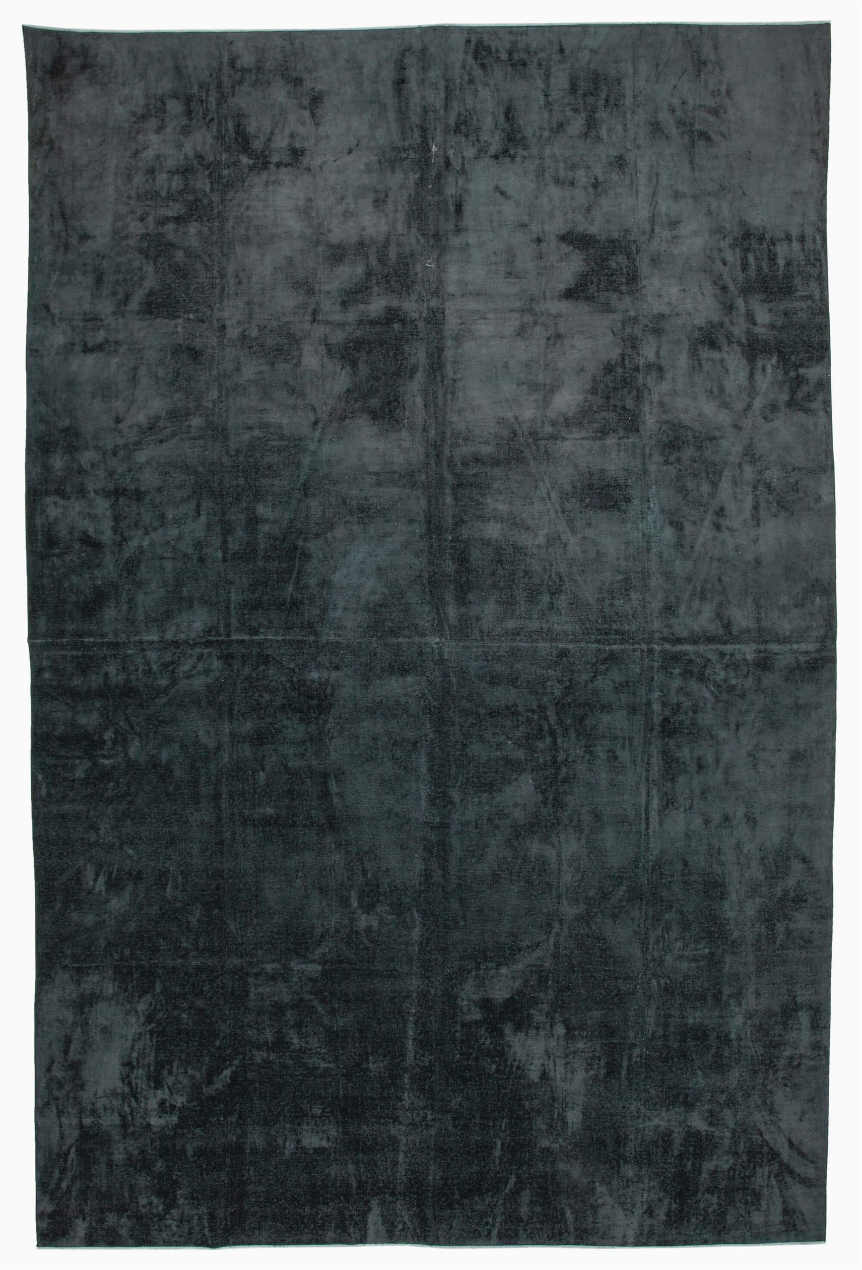 11x17 black overdyed large area rug 2416
