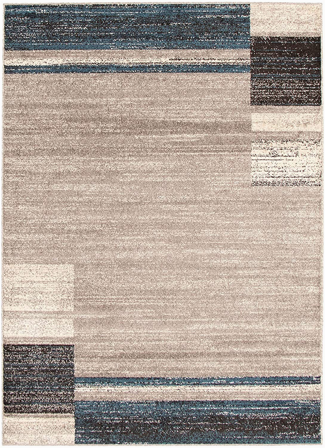 "3 X 7 area Rugs Amazon Ecarpetgallery Ayla area Rugs 5 3"" X 7 3"" Grey"