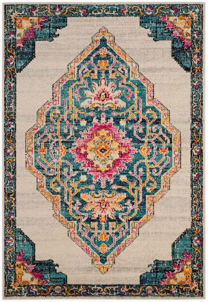 5 Ft Square area Rugs Monaco Cathleen Multi 5 Ft X 5 Ft Square area Rug