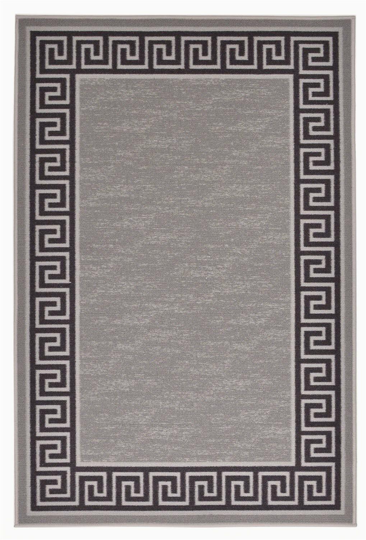 mercer41 tapis grisnoir meander lumpkins c