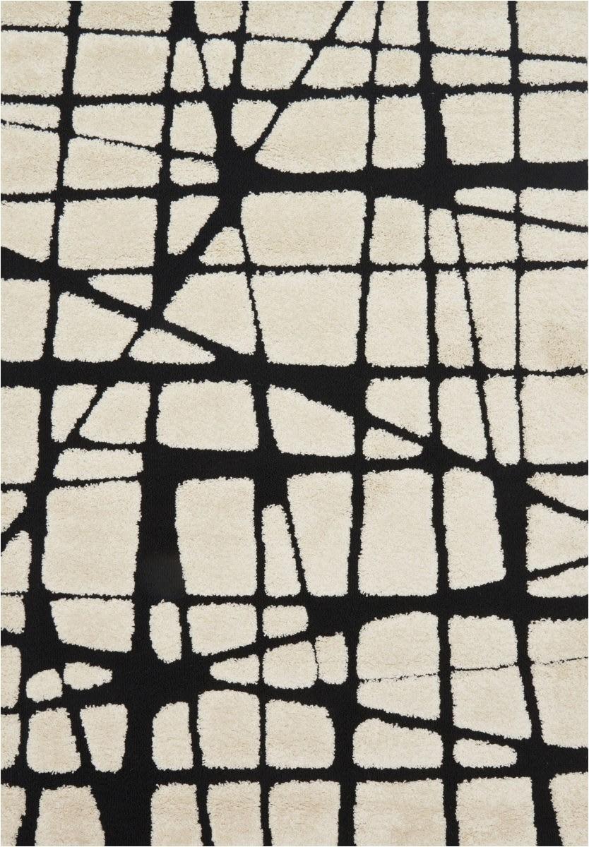 oi enchant en 29 white black area rugx