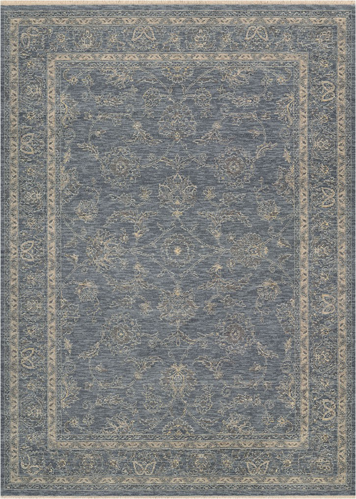 Couristan Elegance Blue 56 X 78 Area Rug LAST ONE p