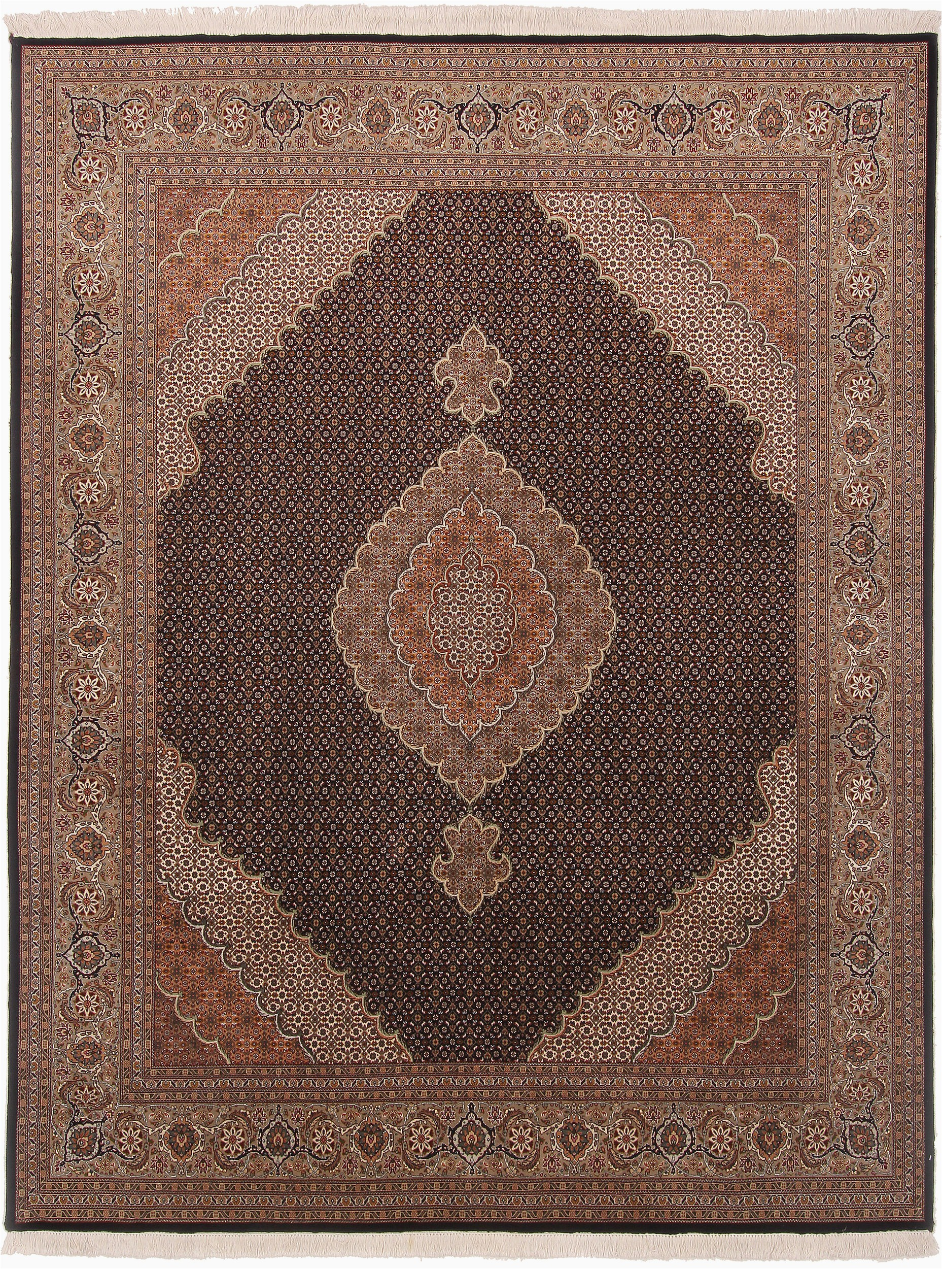 persian mahi beige square area rug