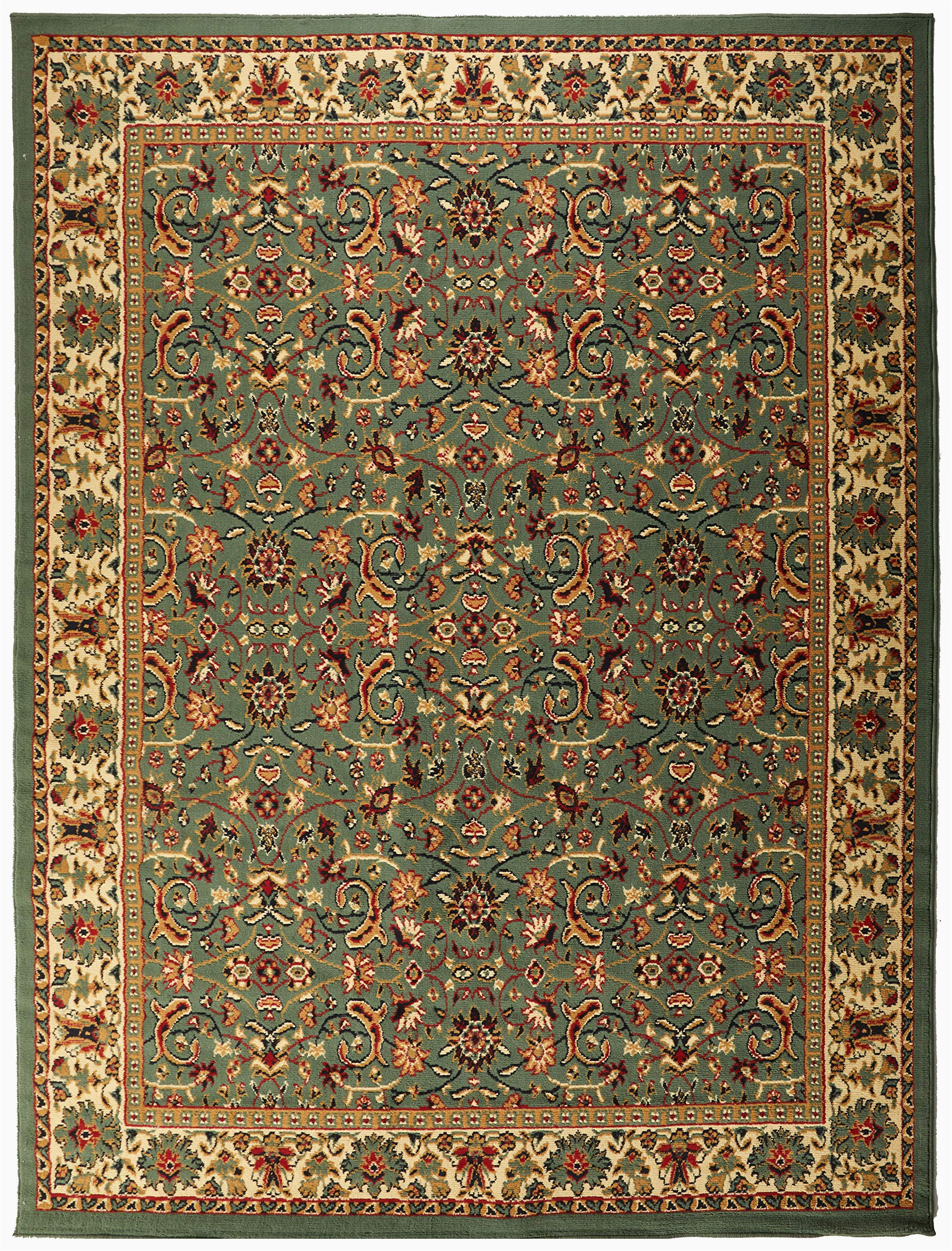 traditional area rug medallion green large rugs for living room 8x10 under 100