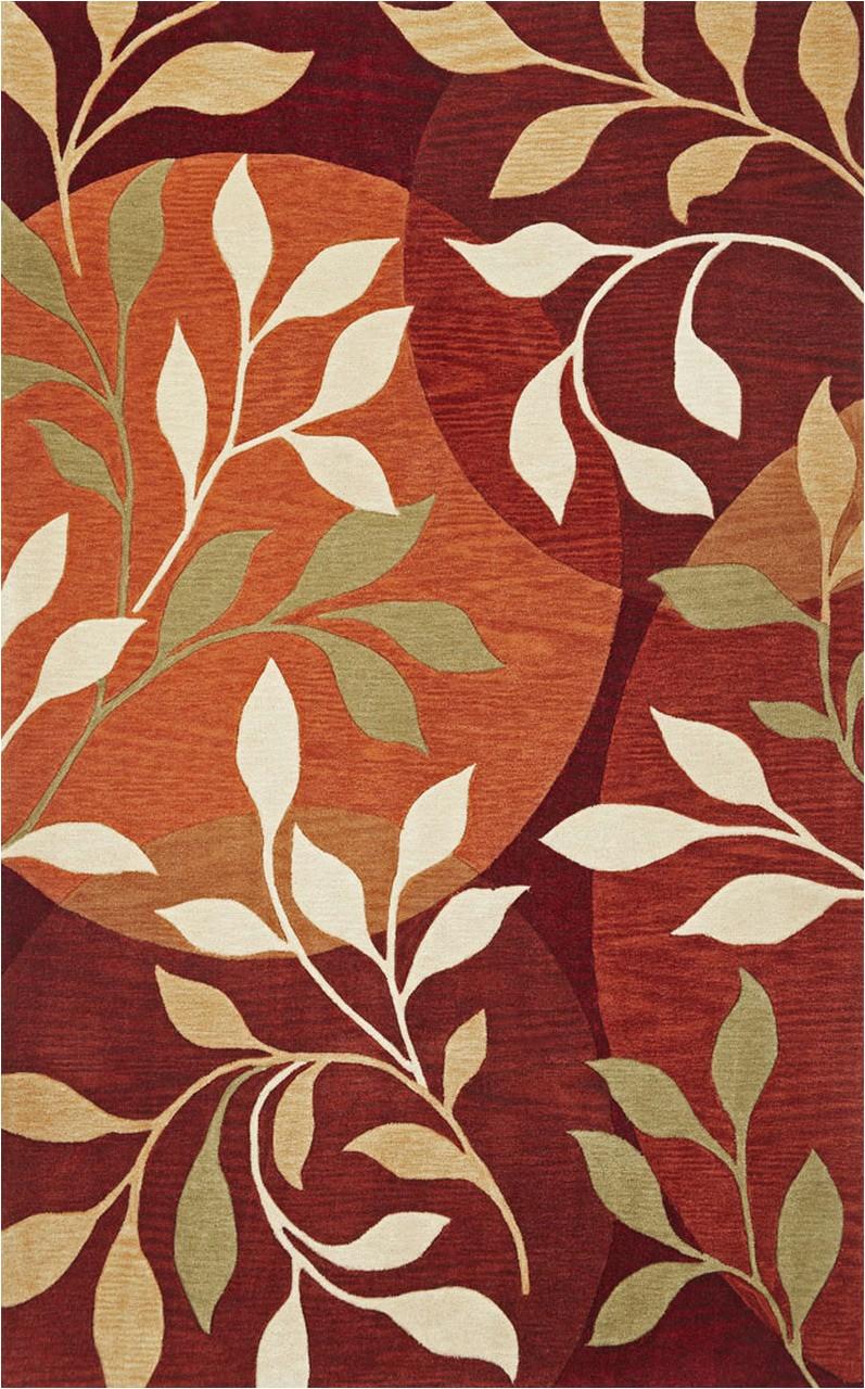 bali 2873 rust mosaic 8 x 10 area rugs