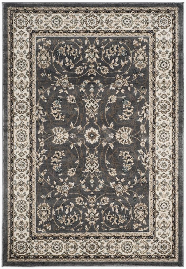 lnh340g 9 lyndhurst large rectangle area rug grey and cream 9 x 12 ft 612d095b a5137f5dbb2aa6aa p