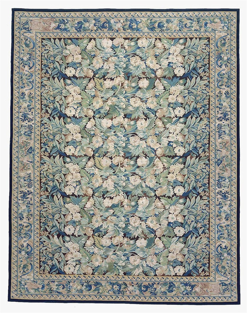 9 ft 2 in x 11 ft 9 in aubusson hand woven new zealand wool area rug c433a54db1b5483dbceac68d5d8fc7c1 p