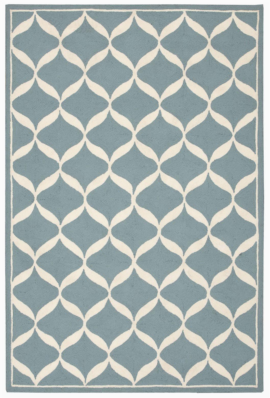 nourison decor aqua white area rug der06 aquwt rectangle