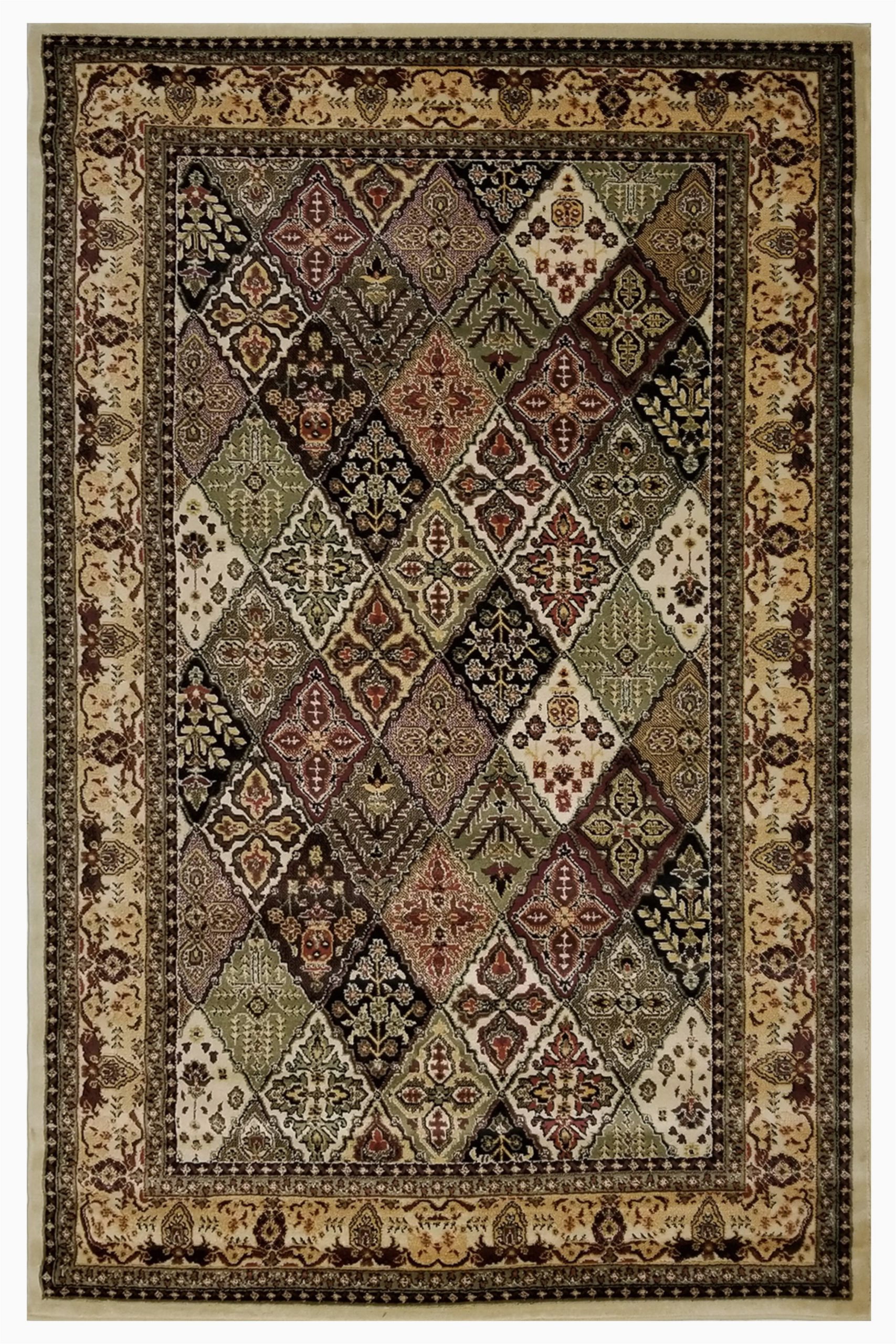 marrone beigegreenbrown area rug