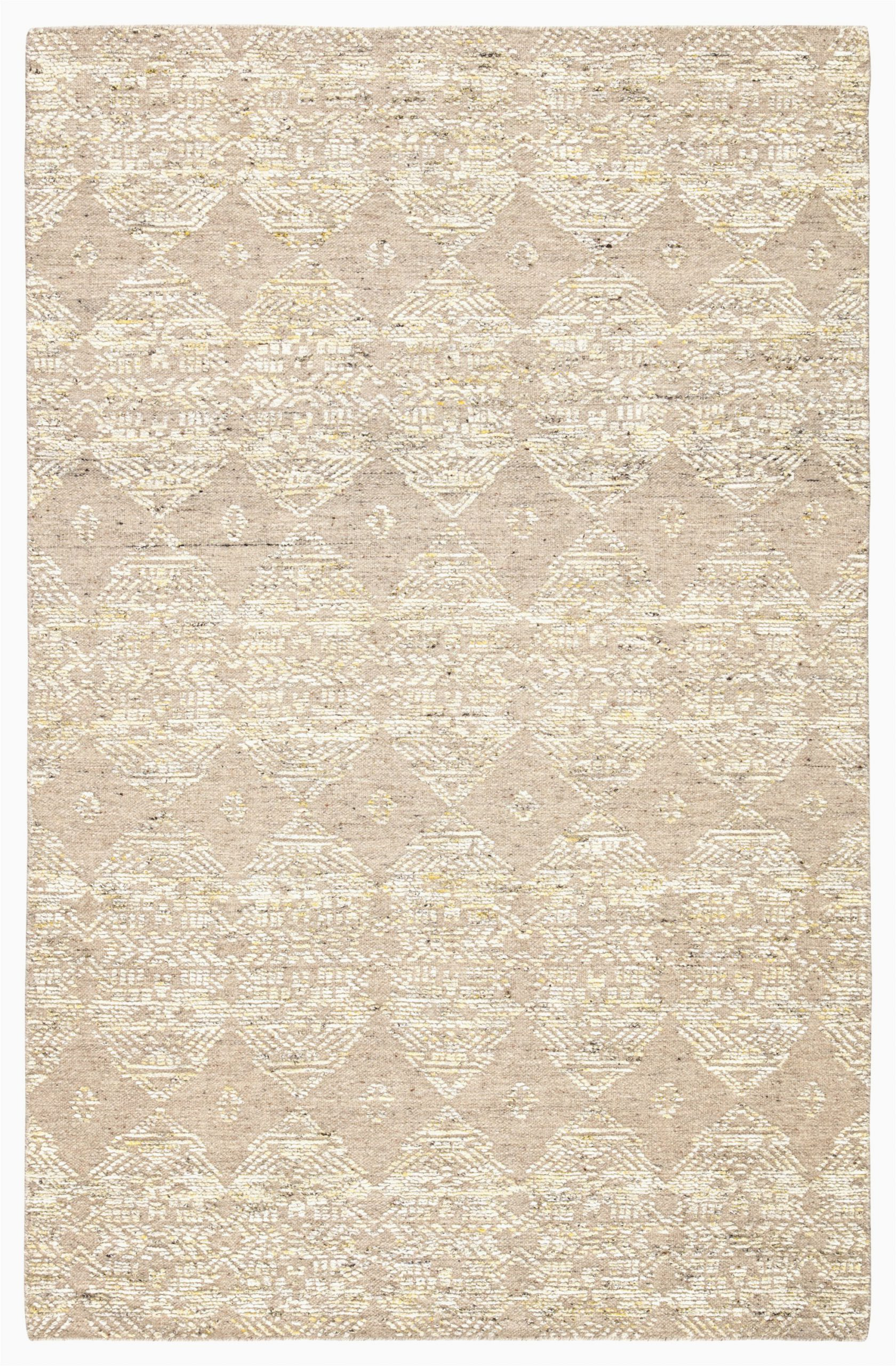 brk02 dentelle hand knotted geometric beige gold area rug by jaipur living