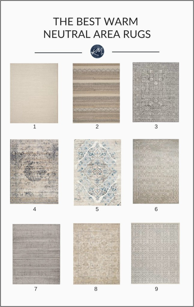Best area Rugs for Tile Floors the 9 Best Warm Neutral area Rugs Affordable and