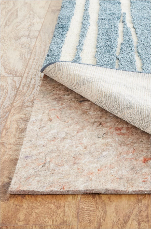 use rug pads that wont disintegrate or discolor