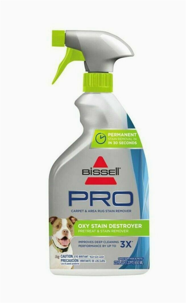 Bissell Pro Carpet and area Rug Stain Remover Bissell Pro Oxy Pet Stain Destroyer Carpet and area Rug Stain Remover Cleaner