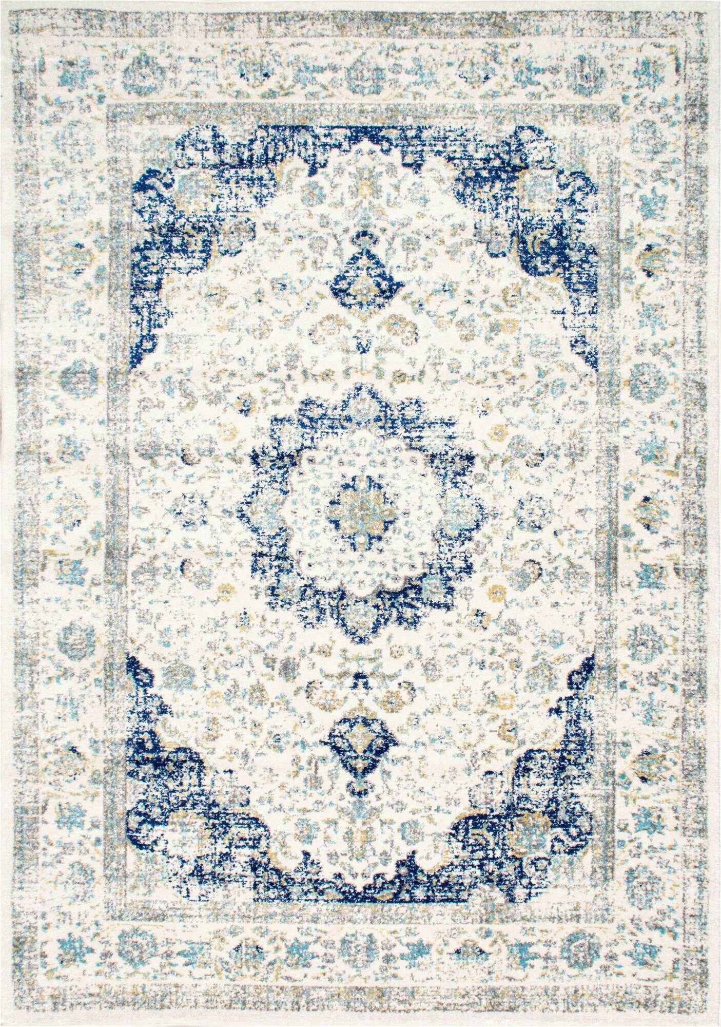 blue area rugs c a1247