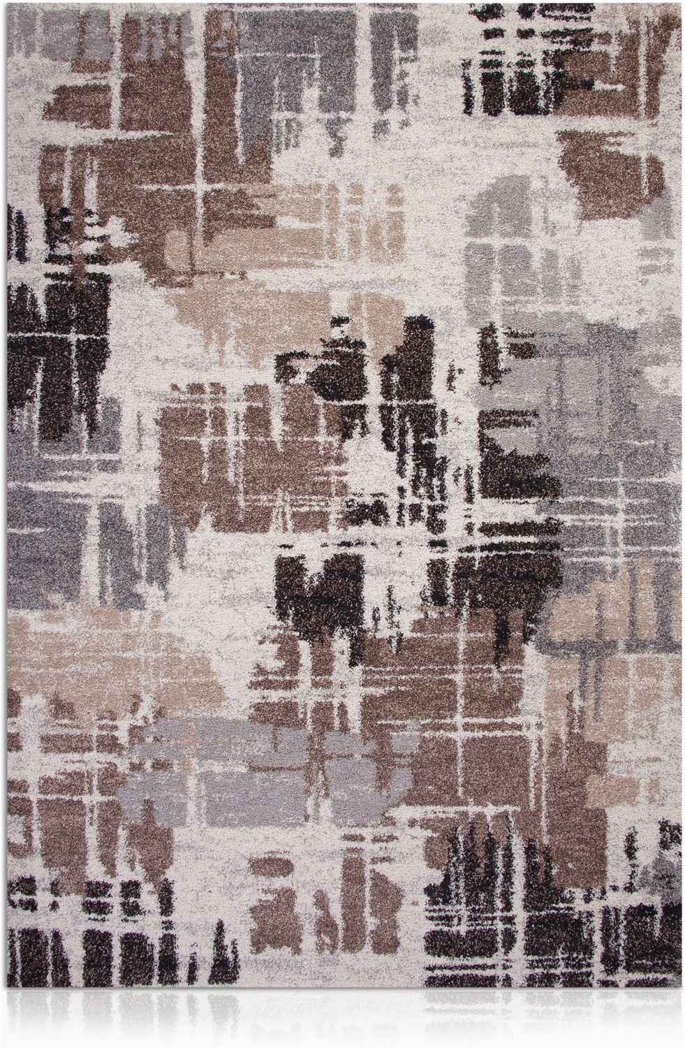 granada brown and gray area rug 5 x 8