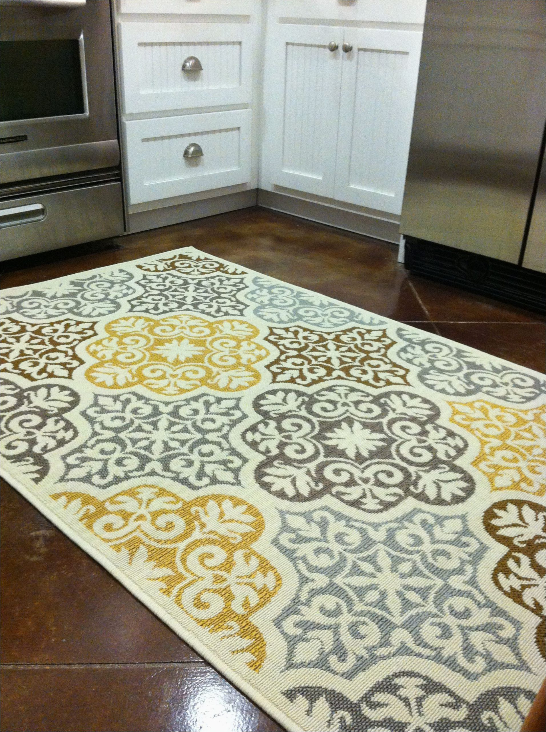 Cat themed area Rugs 5×7 Kitchen Rug Purchased From Overstock Blue Grey