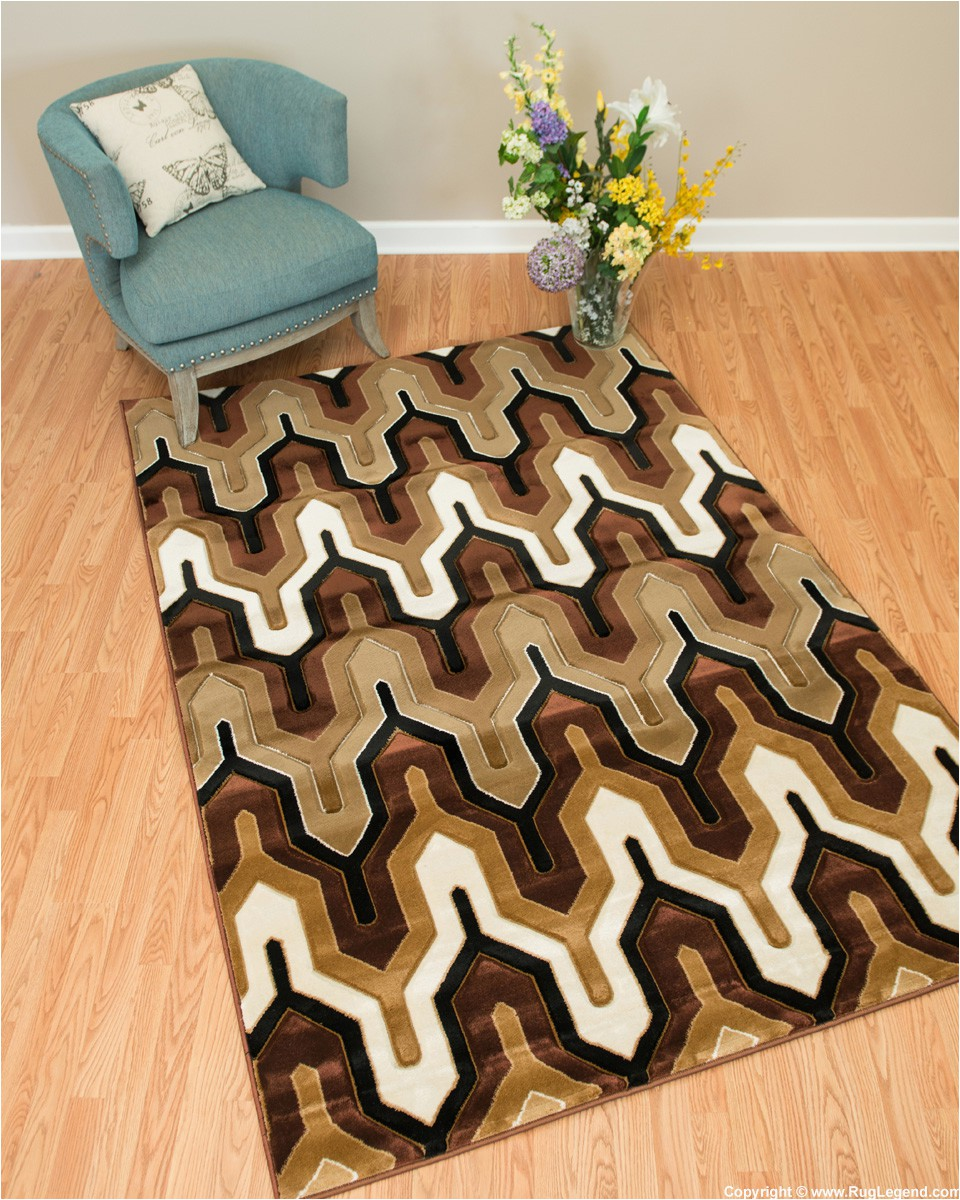 Cat themed area Rugs 5×7 Rug Legend Modern High Quality Hand Carved area Rug 5×7 Carpet 4496 Brown Walmart