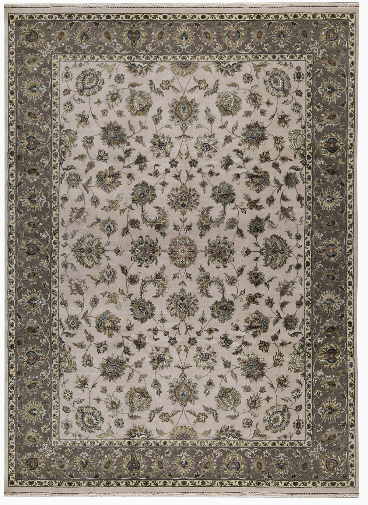 bokara rug co inc one of a kind dharma hand knotted 9 x 12 woolsilk ivorybrown area rug abhd4554