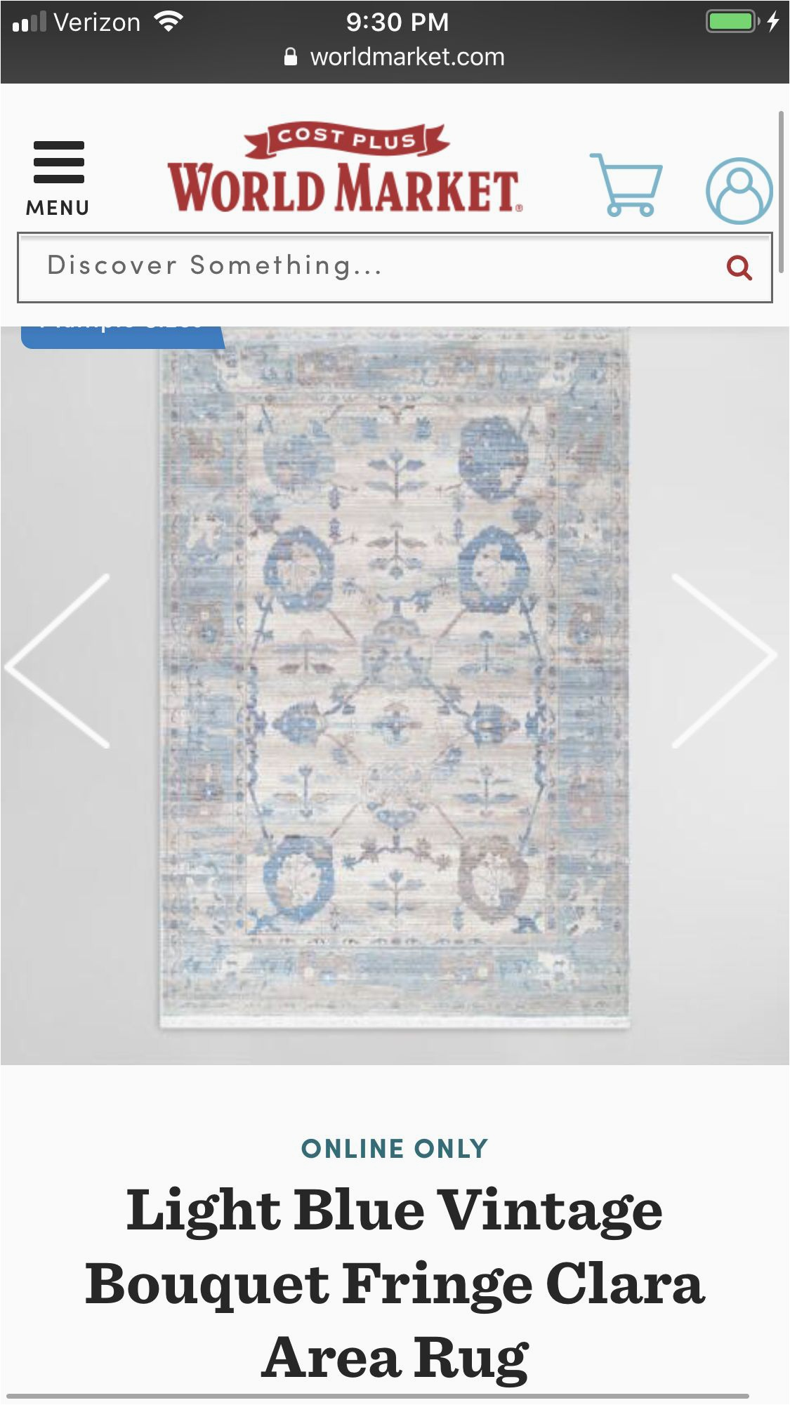 Cost Plus World Market area Rugs Pin by Gail Stafford On Rugs