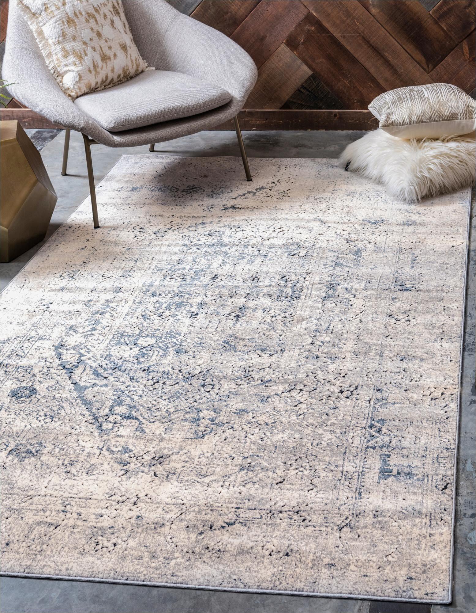 leora graynavy blue area rug