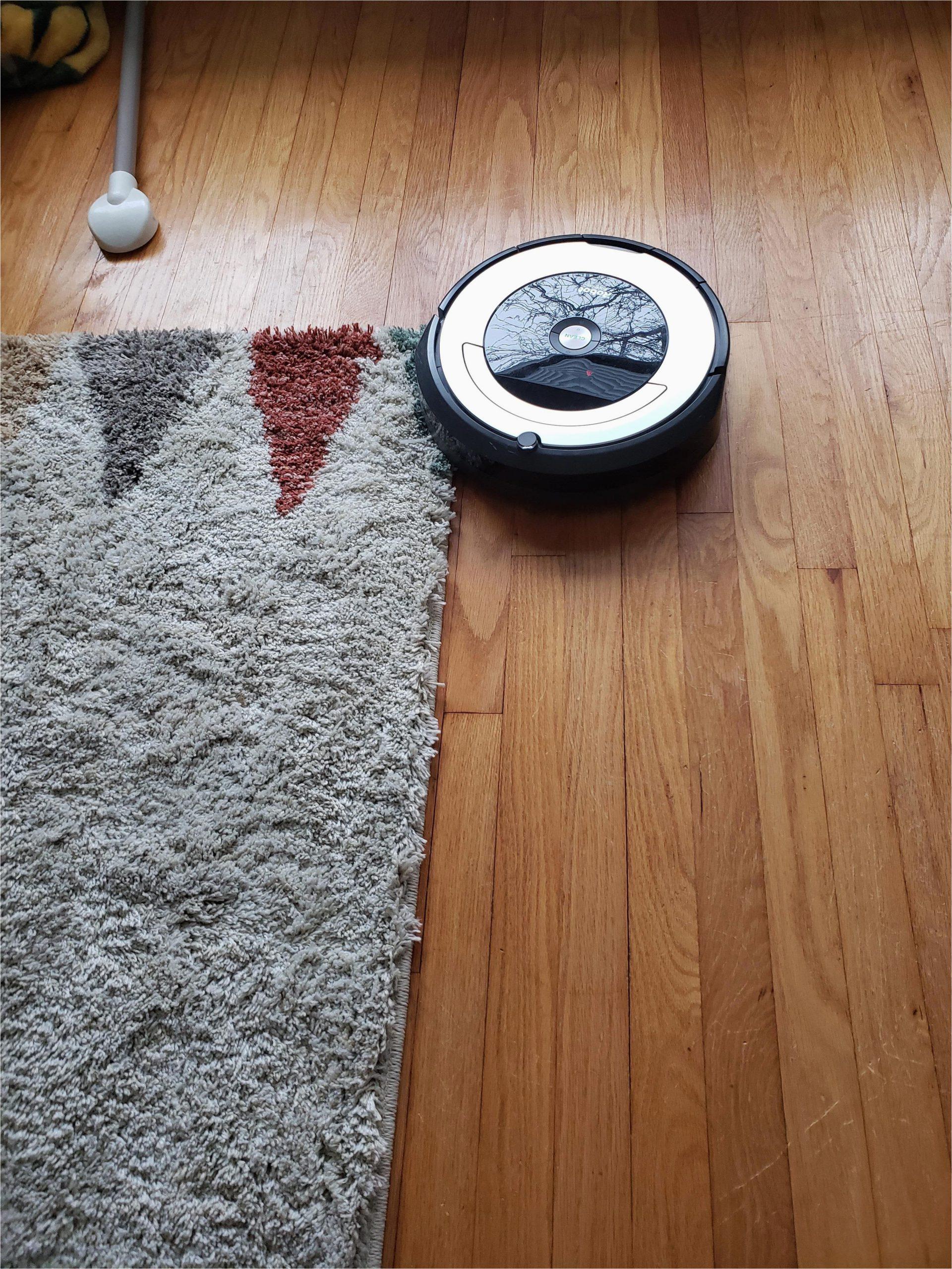 help 690 wont go onto area rug