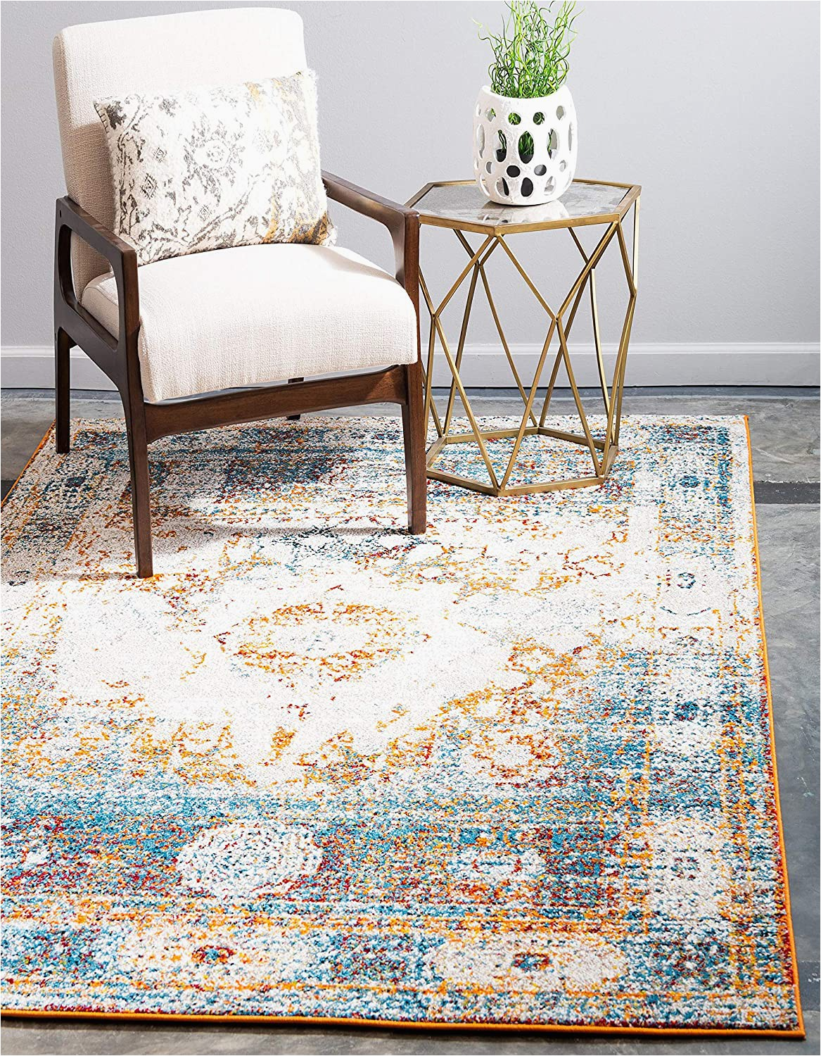 Does Ross Sell area Rugs Unique Loom Rosso Collection Vintage Traditional Distressed Beige area Rug 2 0 X 3 0