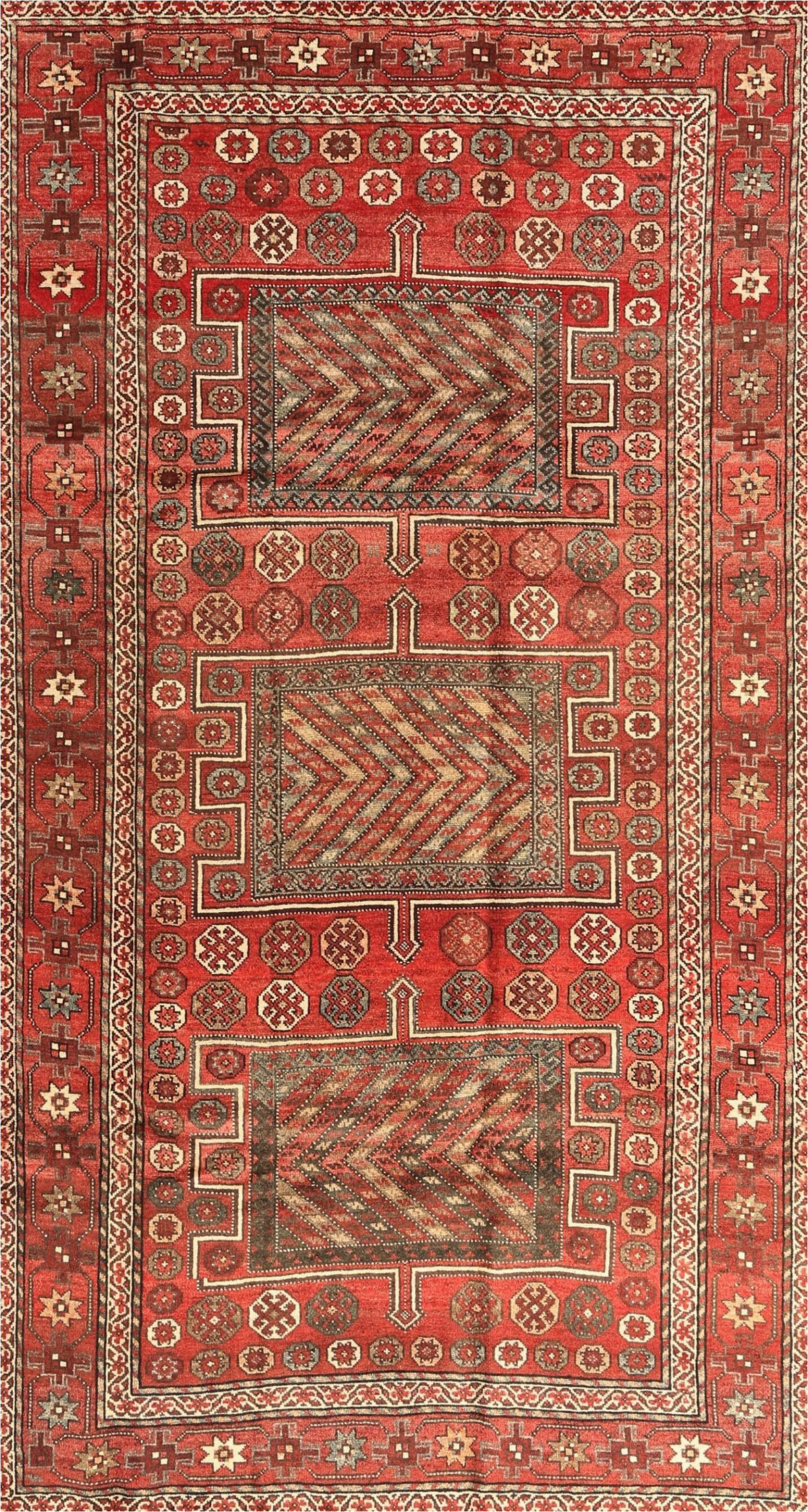 oblak traditional beigegreenred area rug