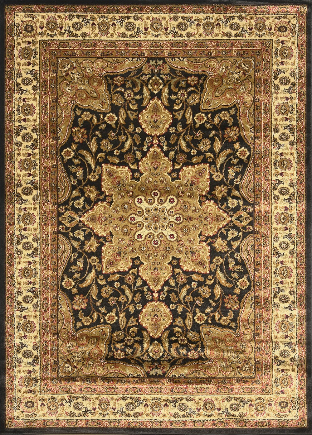 Home Dynamix Royalty Collection area Rug Home Dynamix Royalty 8082 450 Black area Rug